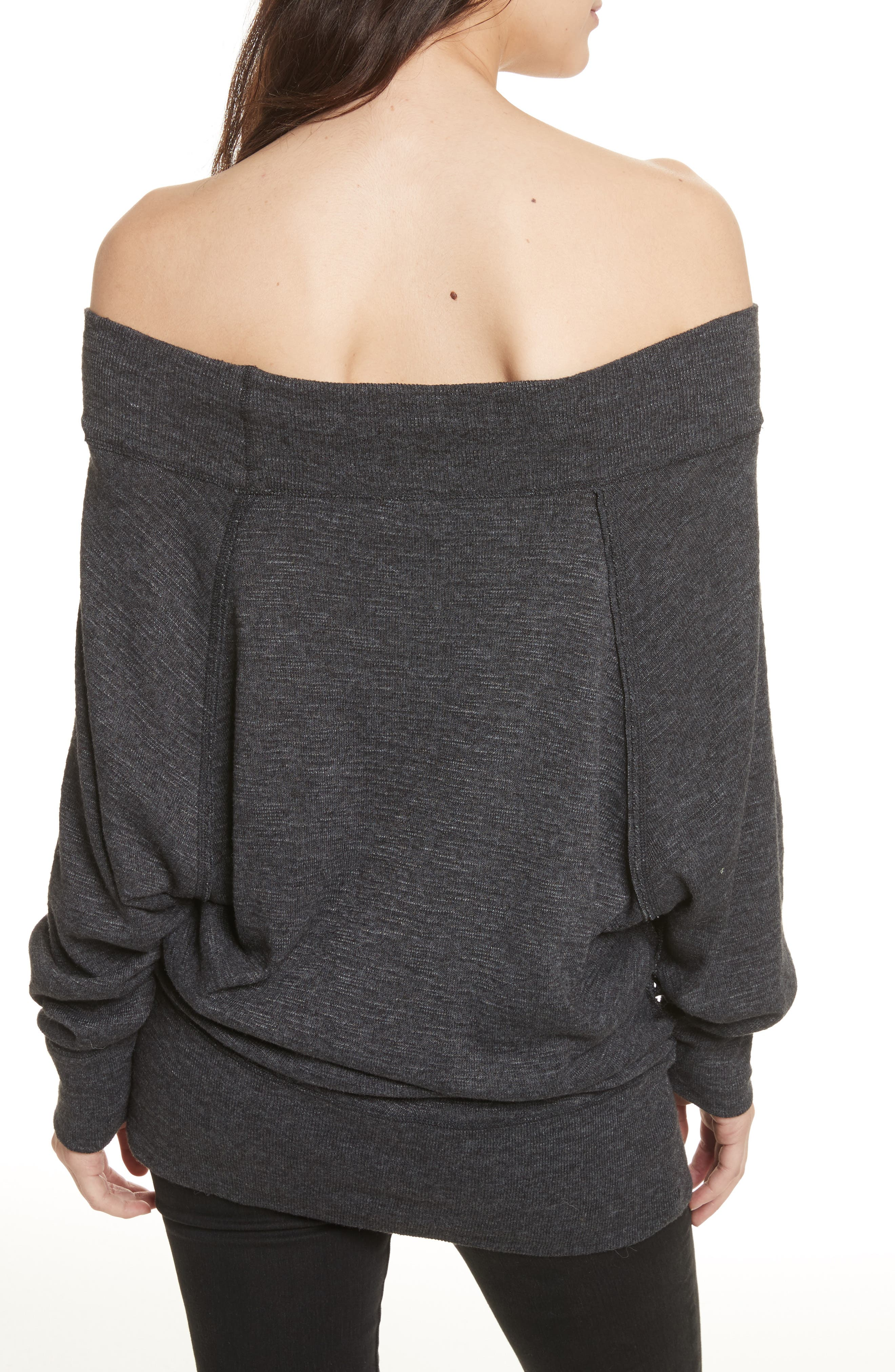 Palisades Off the Shoulder Top,                             Alternate thumbnail 17, color,