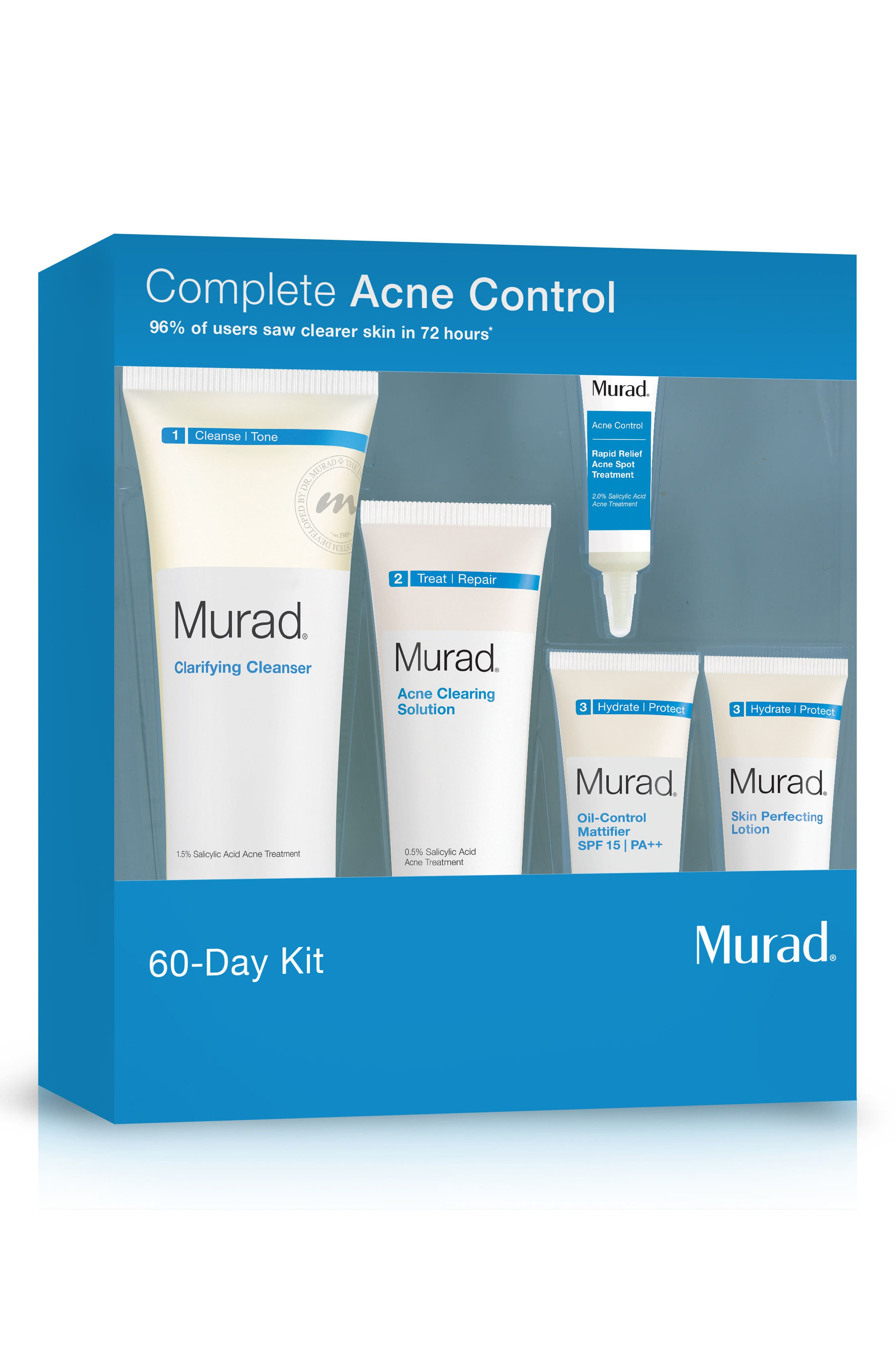 Acne Control 60-Day Kit,                             Alternate thumbnail 3, color,                             000