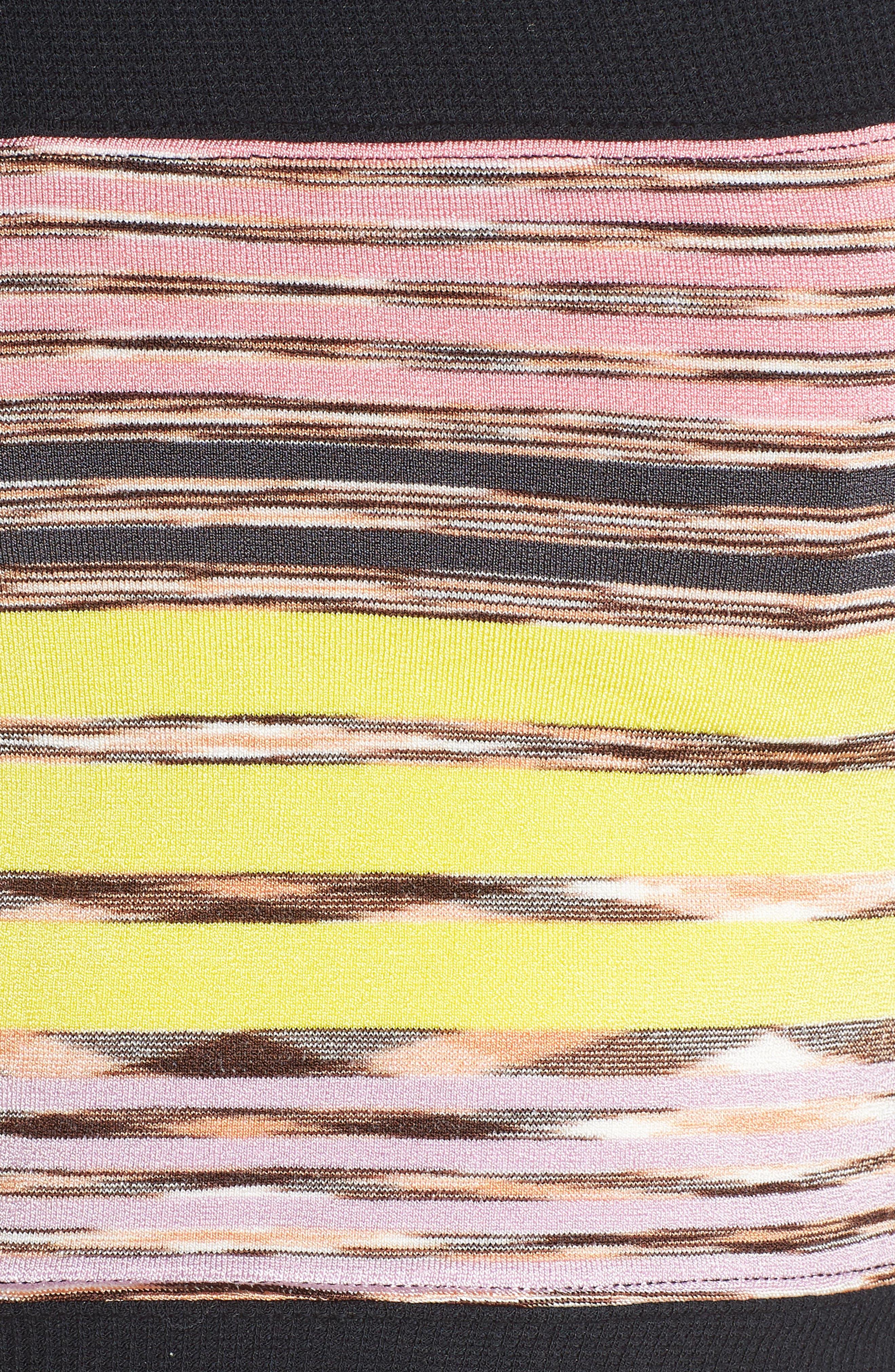 Mountain Mama Crop Top,                             Alternate thumbnail 6, color,                             BLACK