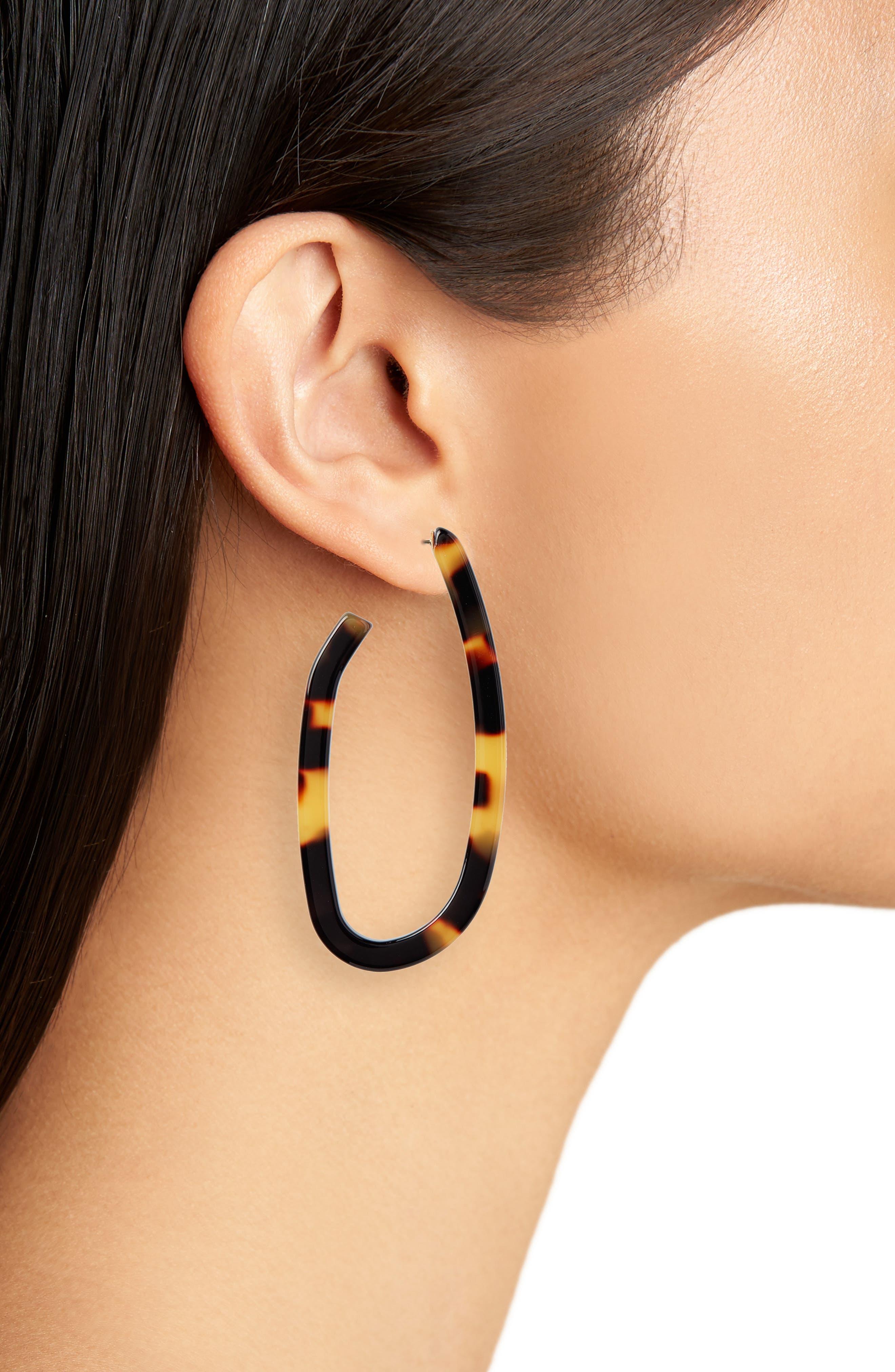 Maya Hoop Earrings,                             Alternate thumbnail 2, color,                             200