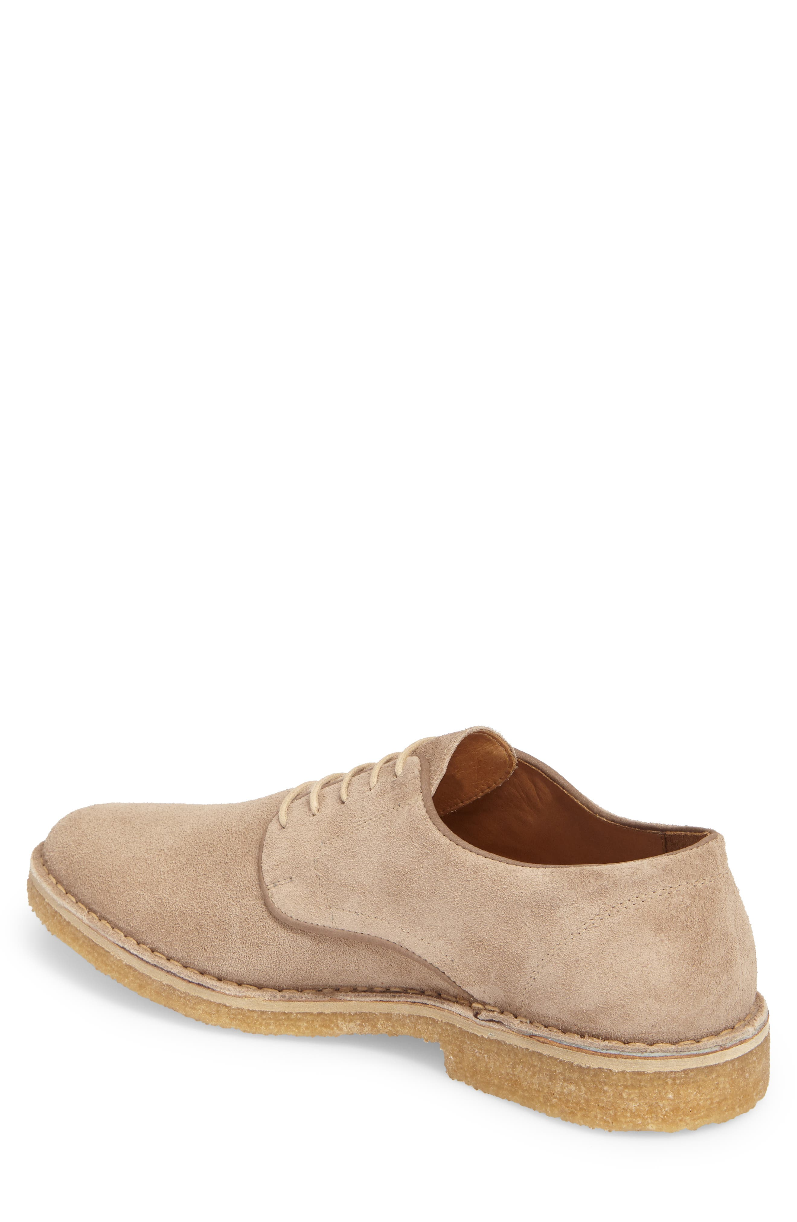 Crescent Buck Shoe,                             Alternate thumbnail 2, color,                             TAN SUEDE