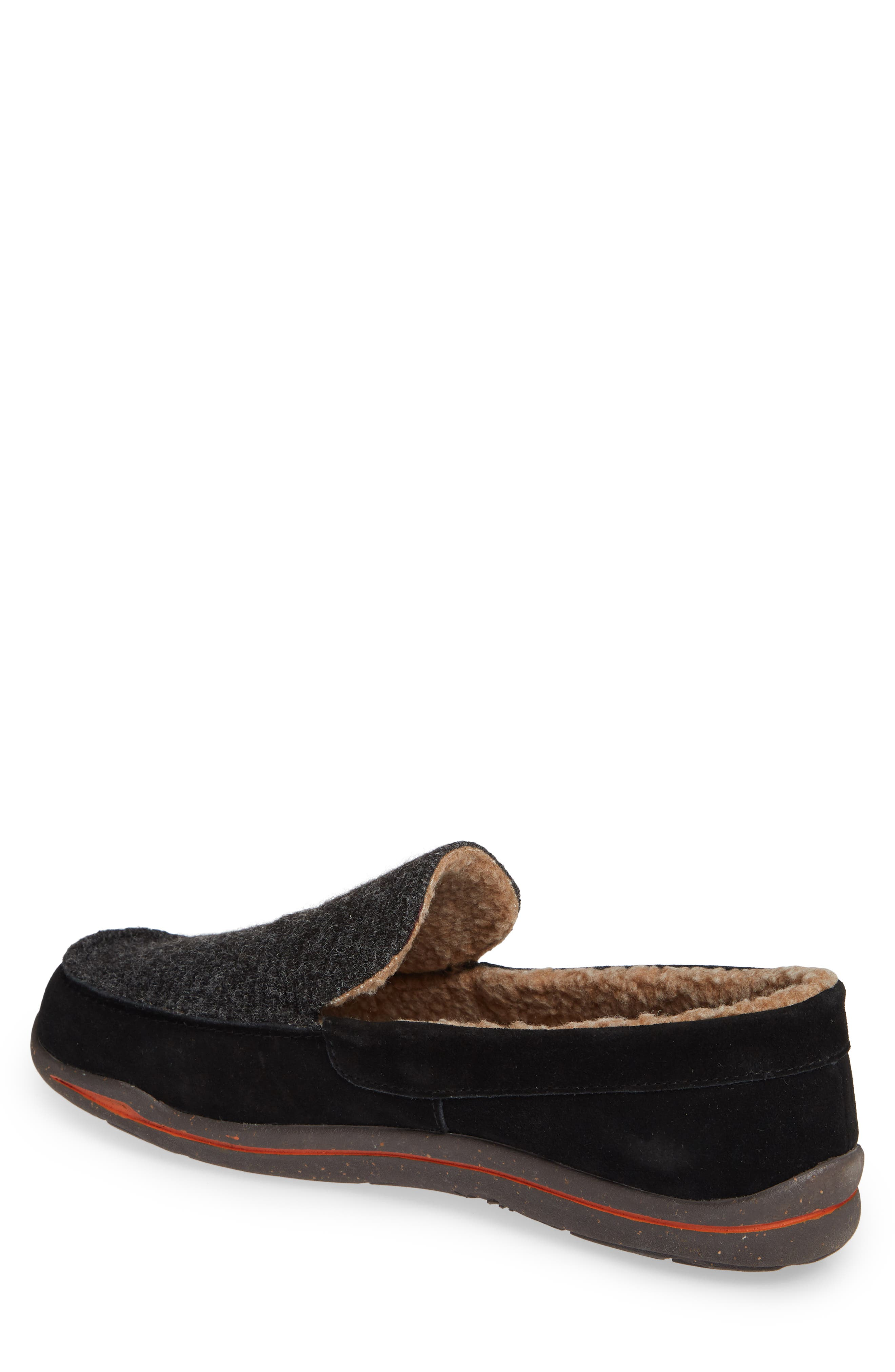 Ellsworth Moc Toe Slipper,                             Alternate thumbnail 2, color,                             BLACK