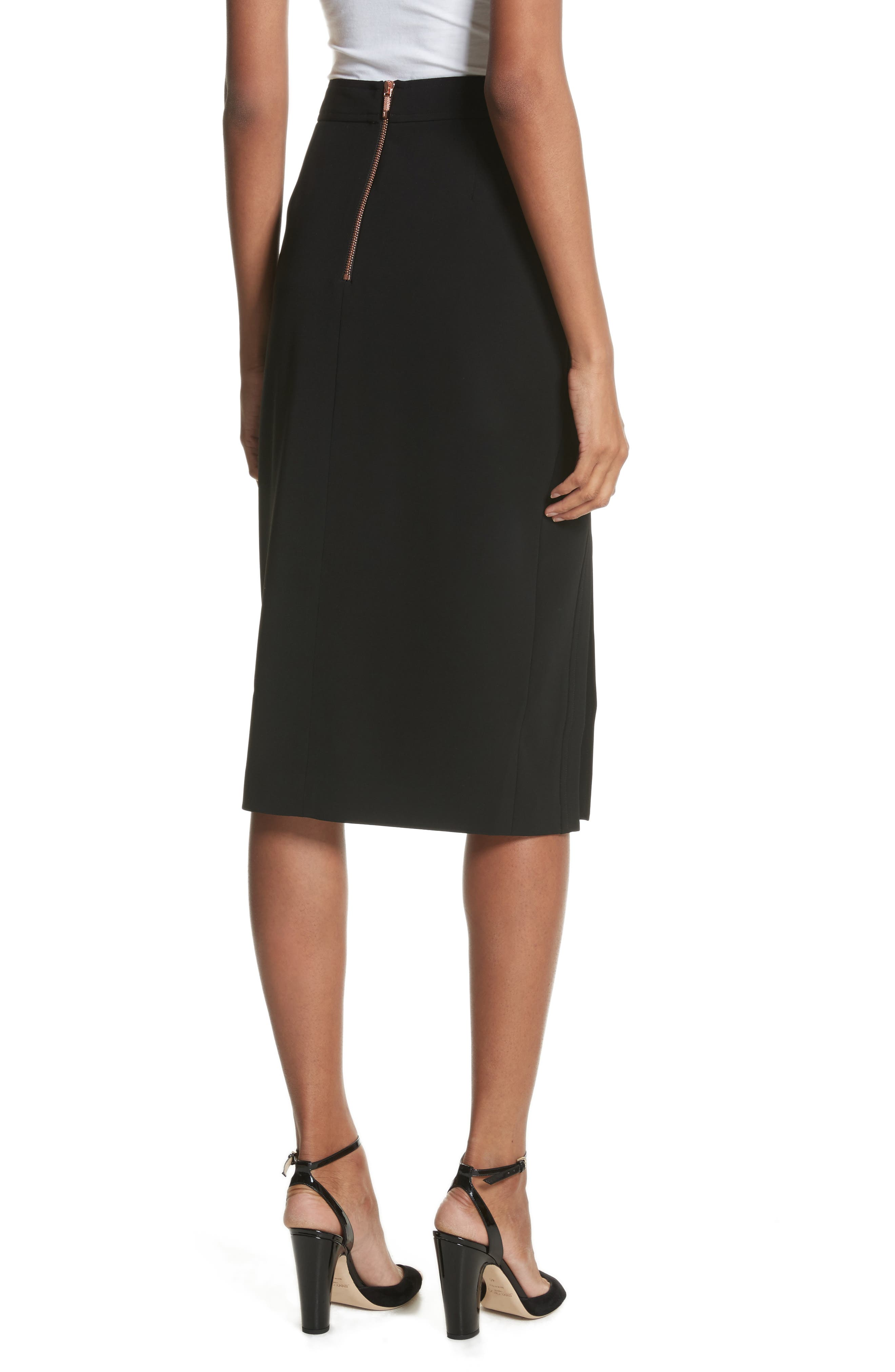 Pencil Skirt,                             Alternate thumbnail 2, color,