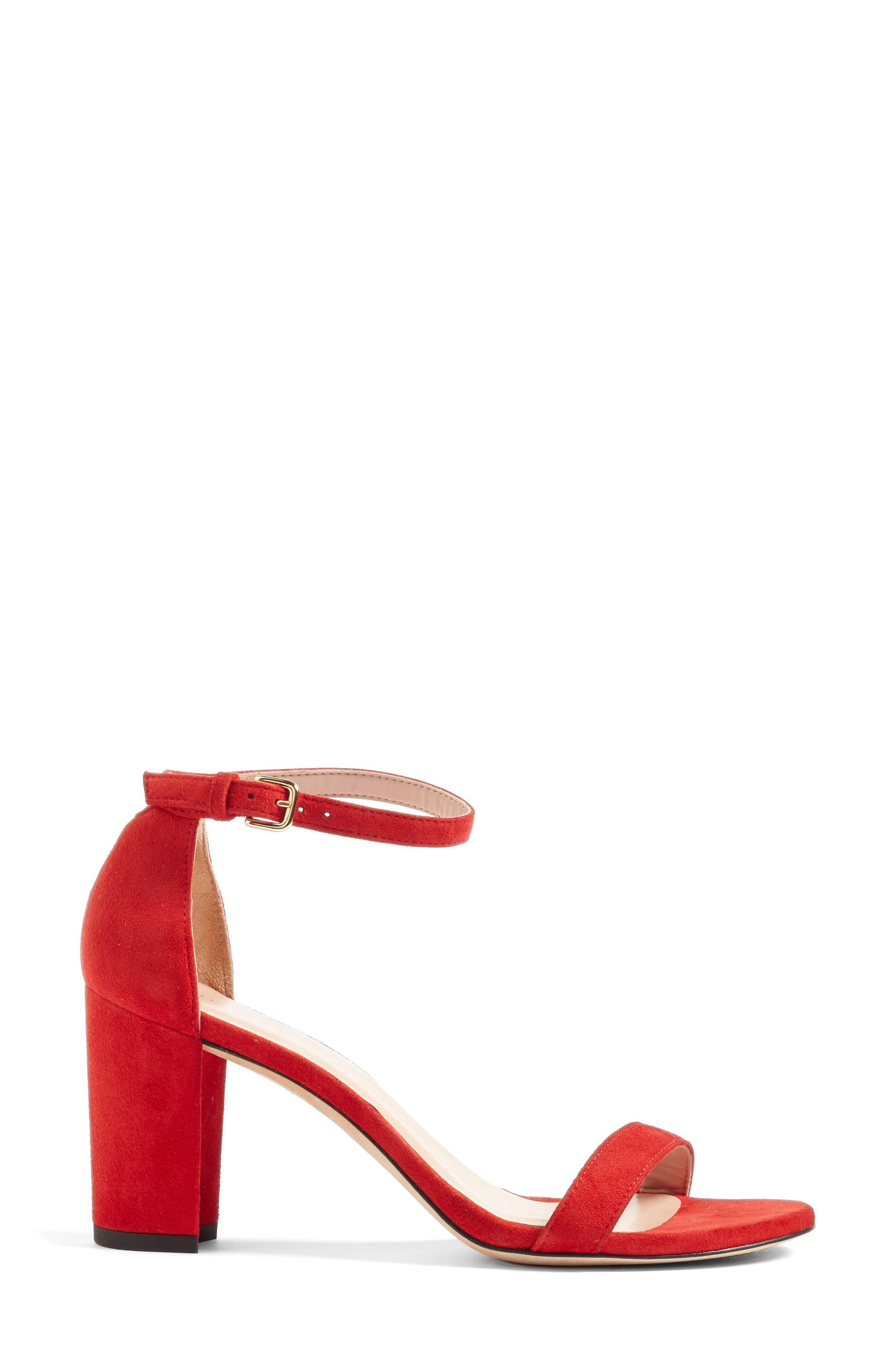 NearlyNude Ankle Strap Sandal,                             Alternate thumbnail 133, color,