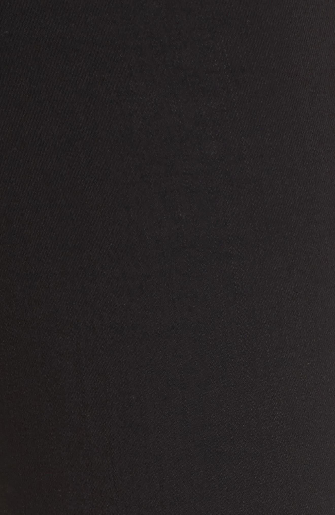Luma High Waist Skinny Stirrup Jeans,                             Alternate thumbnail 5, color,                             002