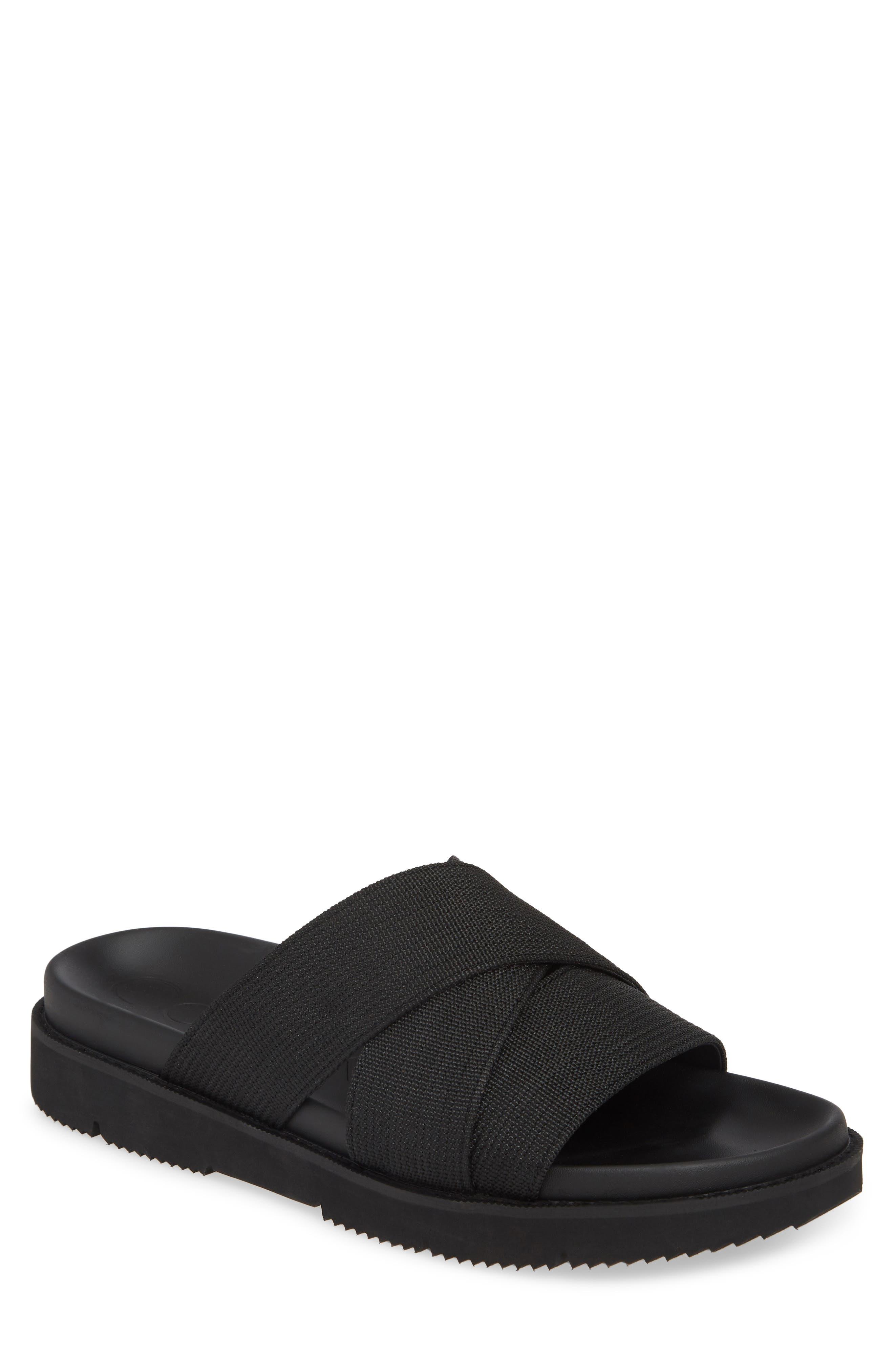 8316418258a0 men s calvin klein rowland slide sandal