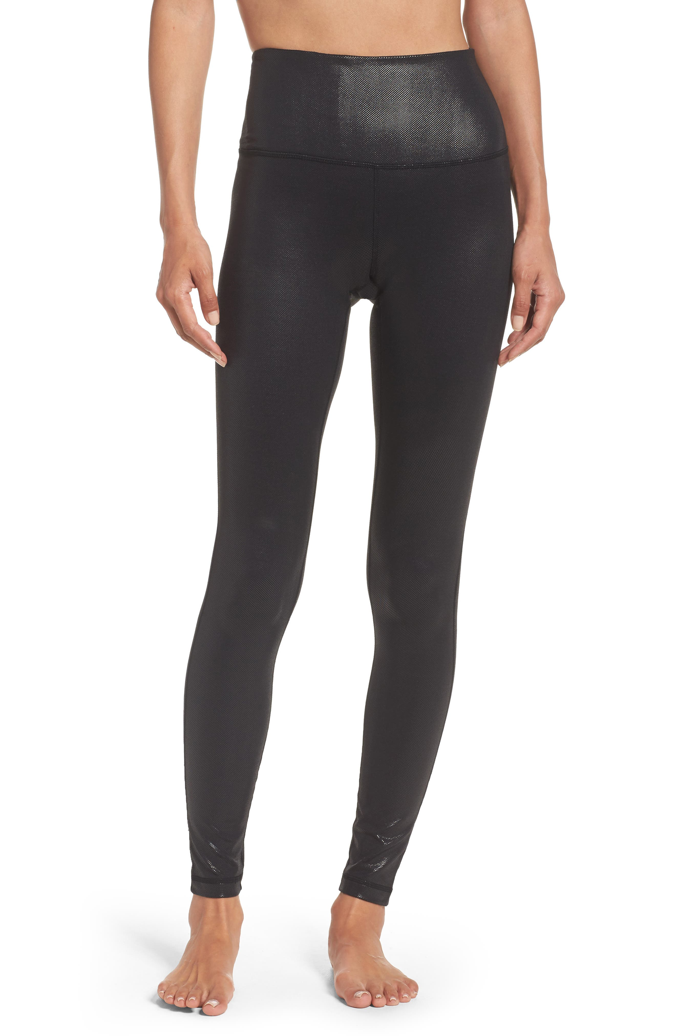 Live-In High Waist Leggings,                             Main thumbnail 1, color,                             002