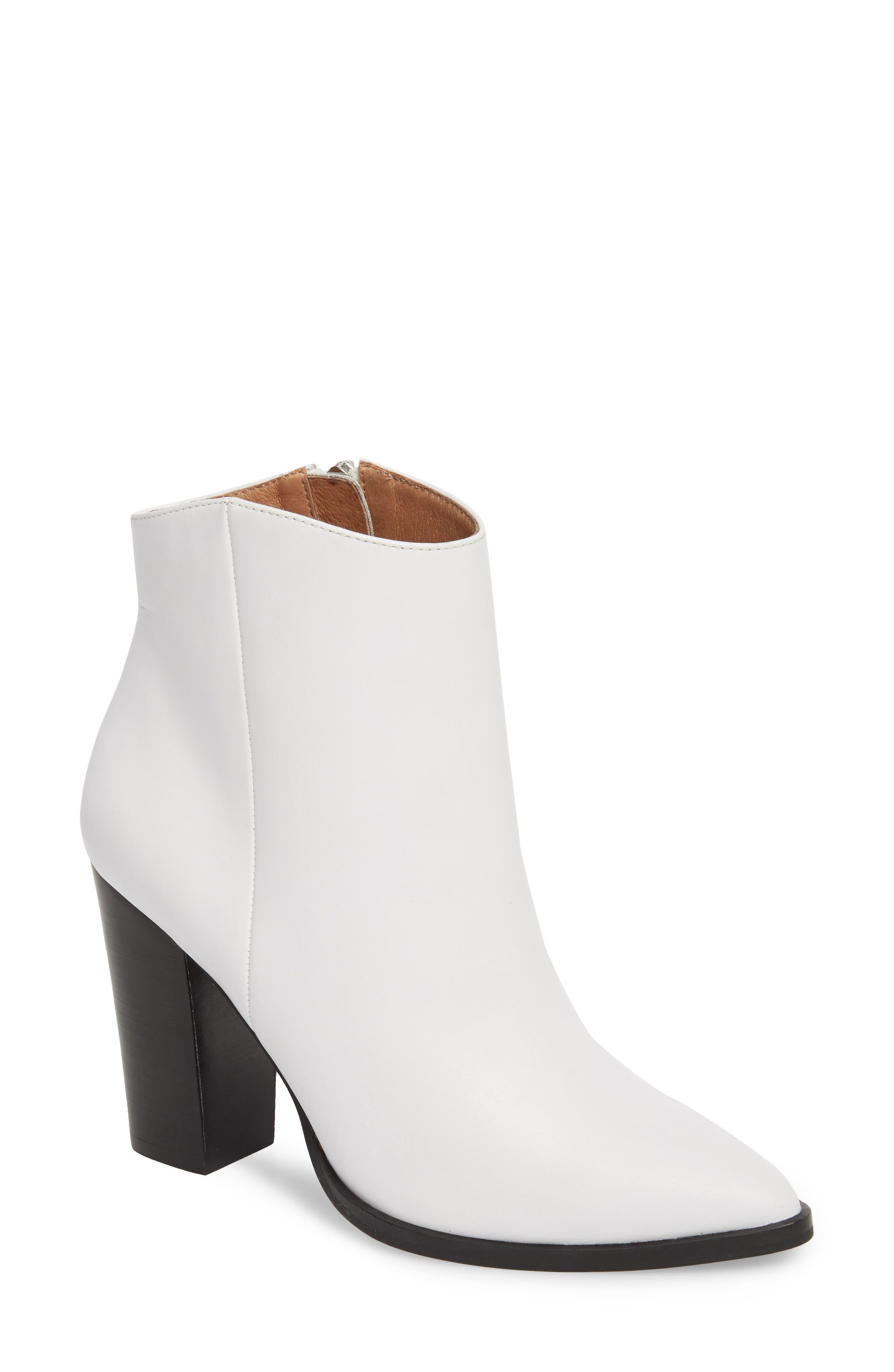 Halogen Bergen Boot, White