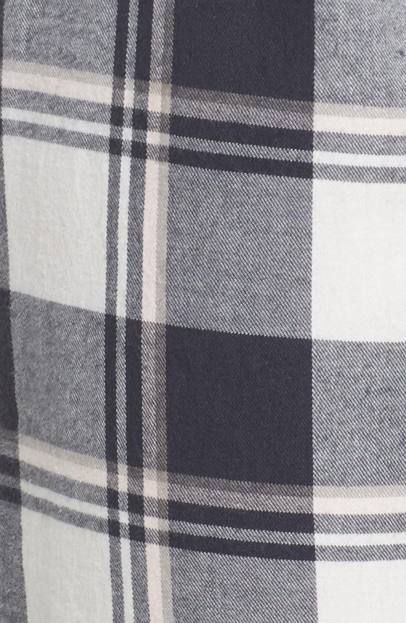 Plaid Pajama Pants,                             Alternate thumbnail 5, color,                             900