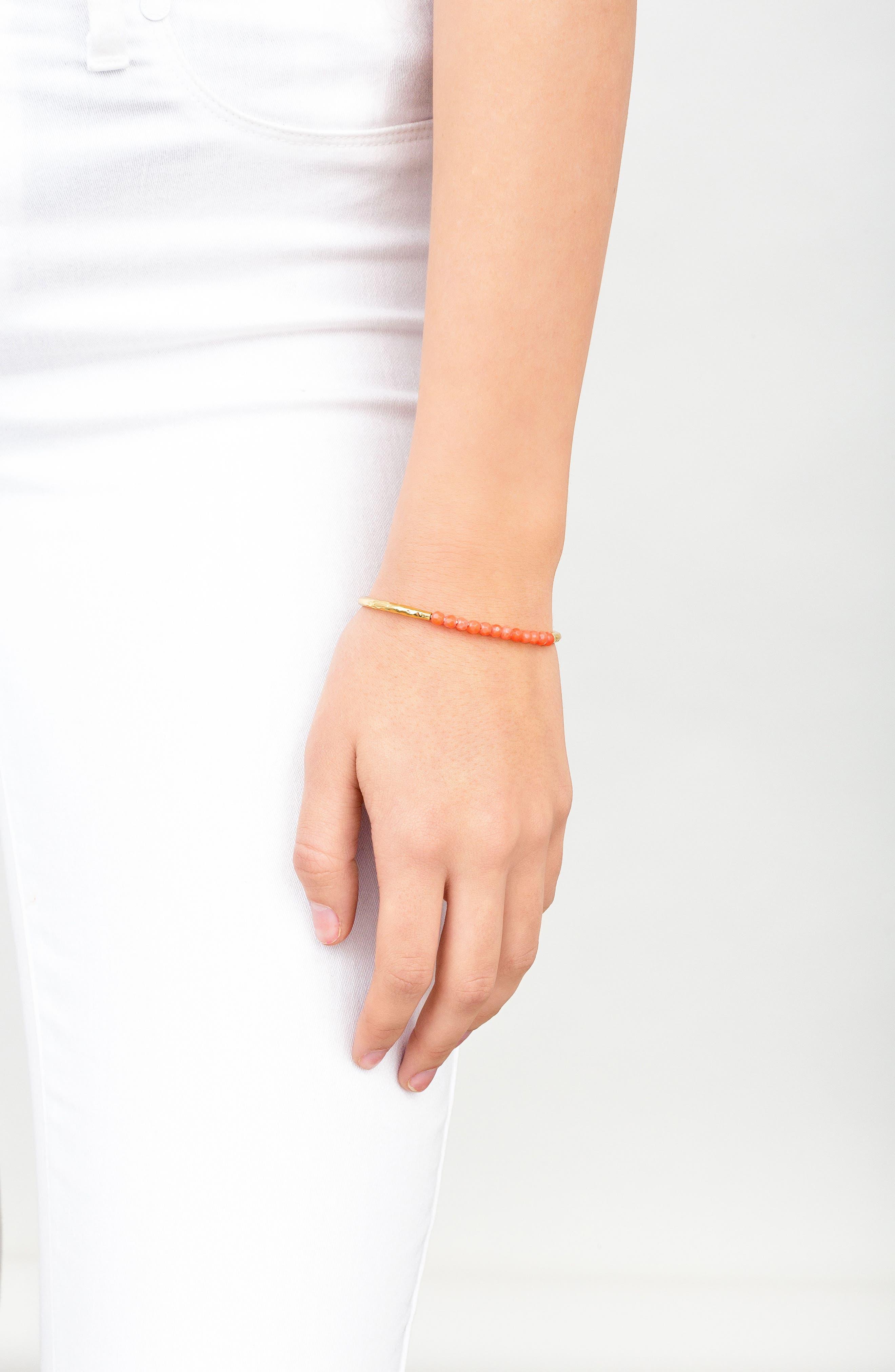 Power Stone Semiprecious Beaded Bracelet,                             Alternate thumbnail 26, color,