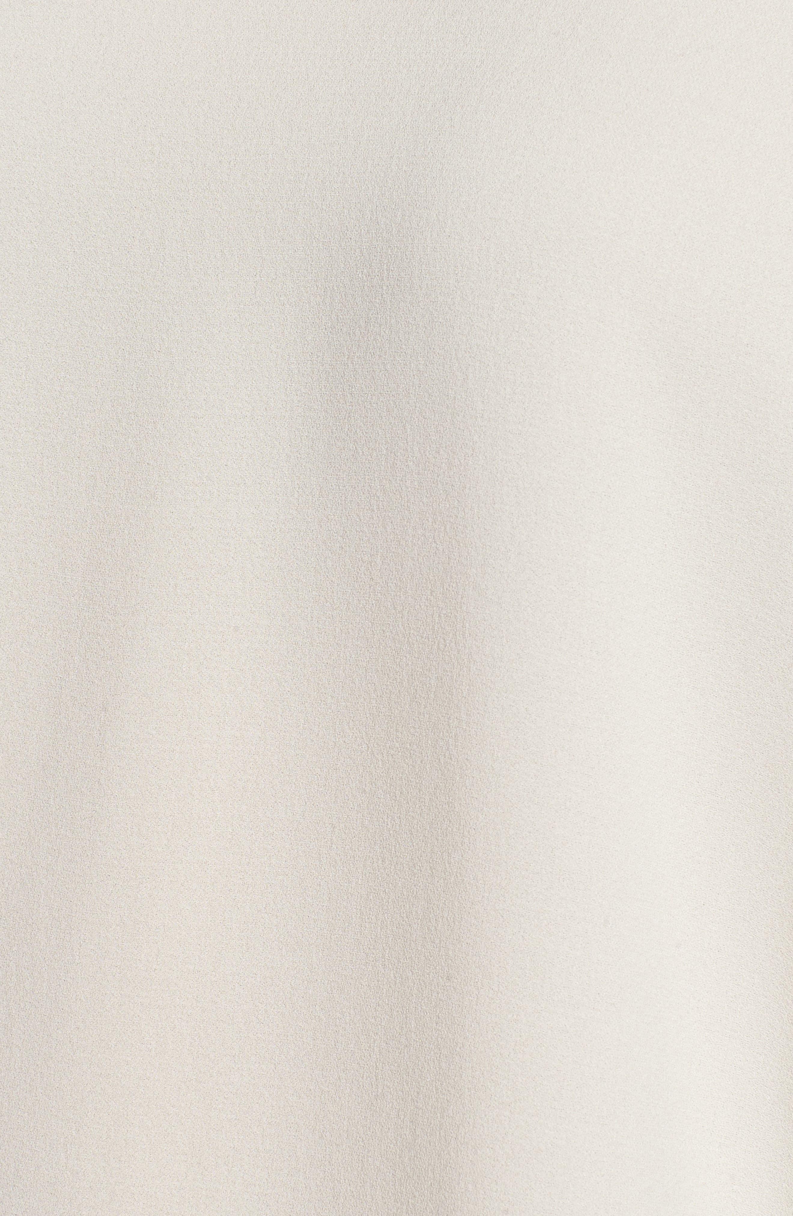 Slit Sleeve Silk Top,                             Alternate thumbnail 14, color,