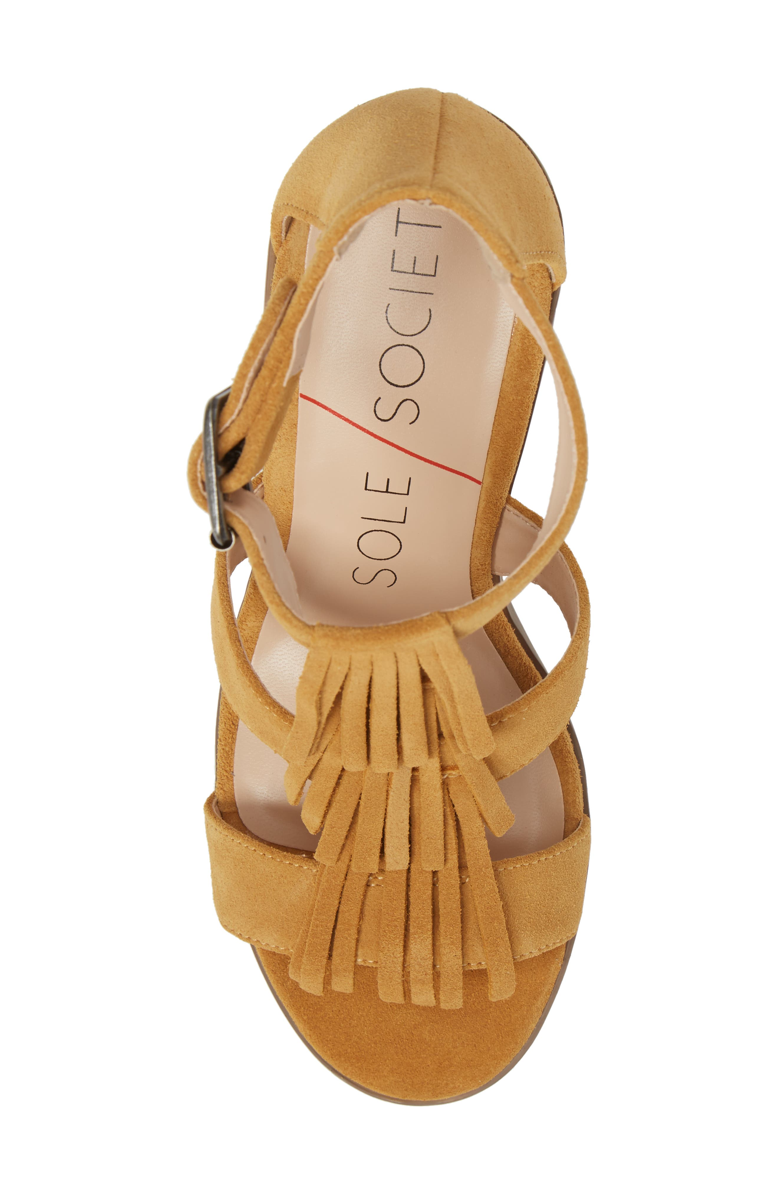 'Delilah' Fringe Sandal,                             Alternate thumbnail 36, color,
