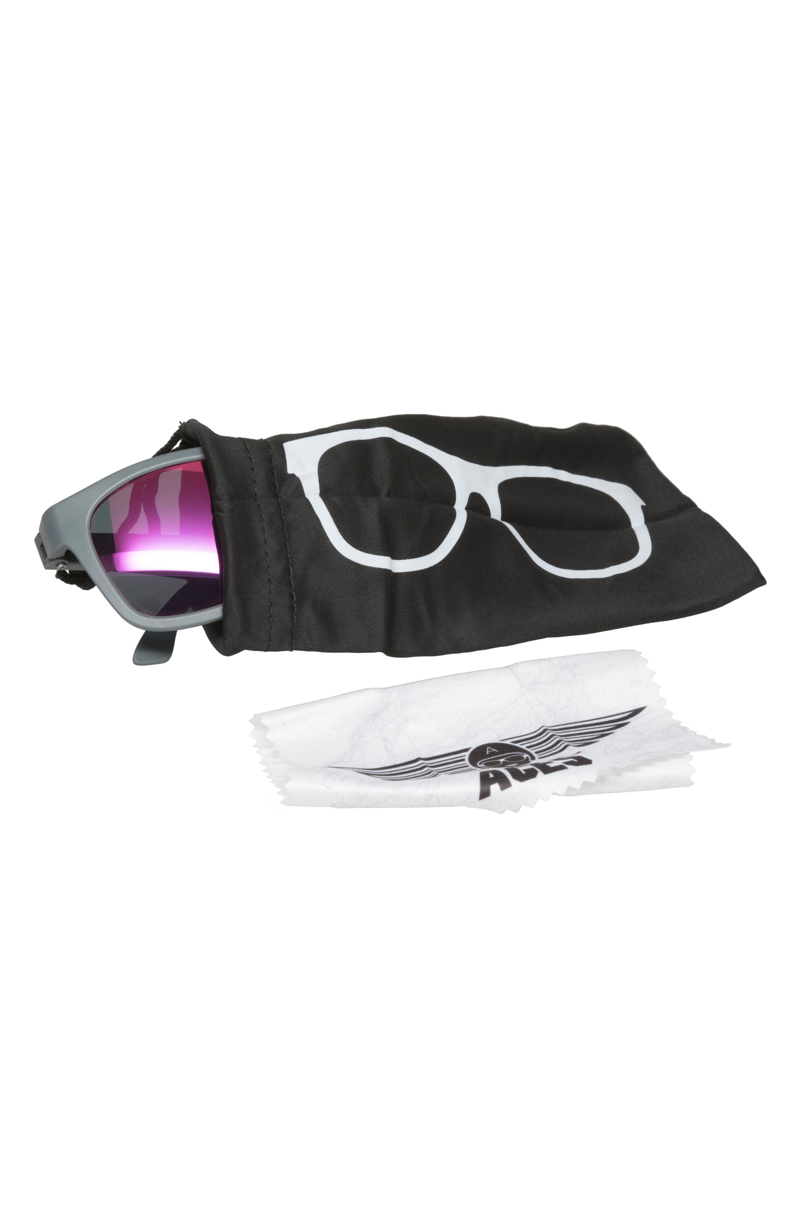 Aces Navigator Sunglasses,                             Alternate thumbnail 3, color,                             020