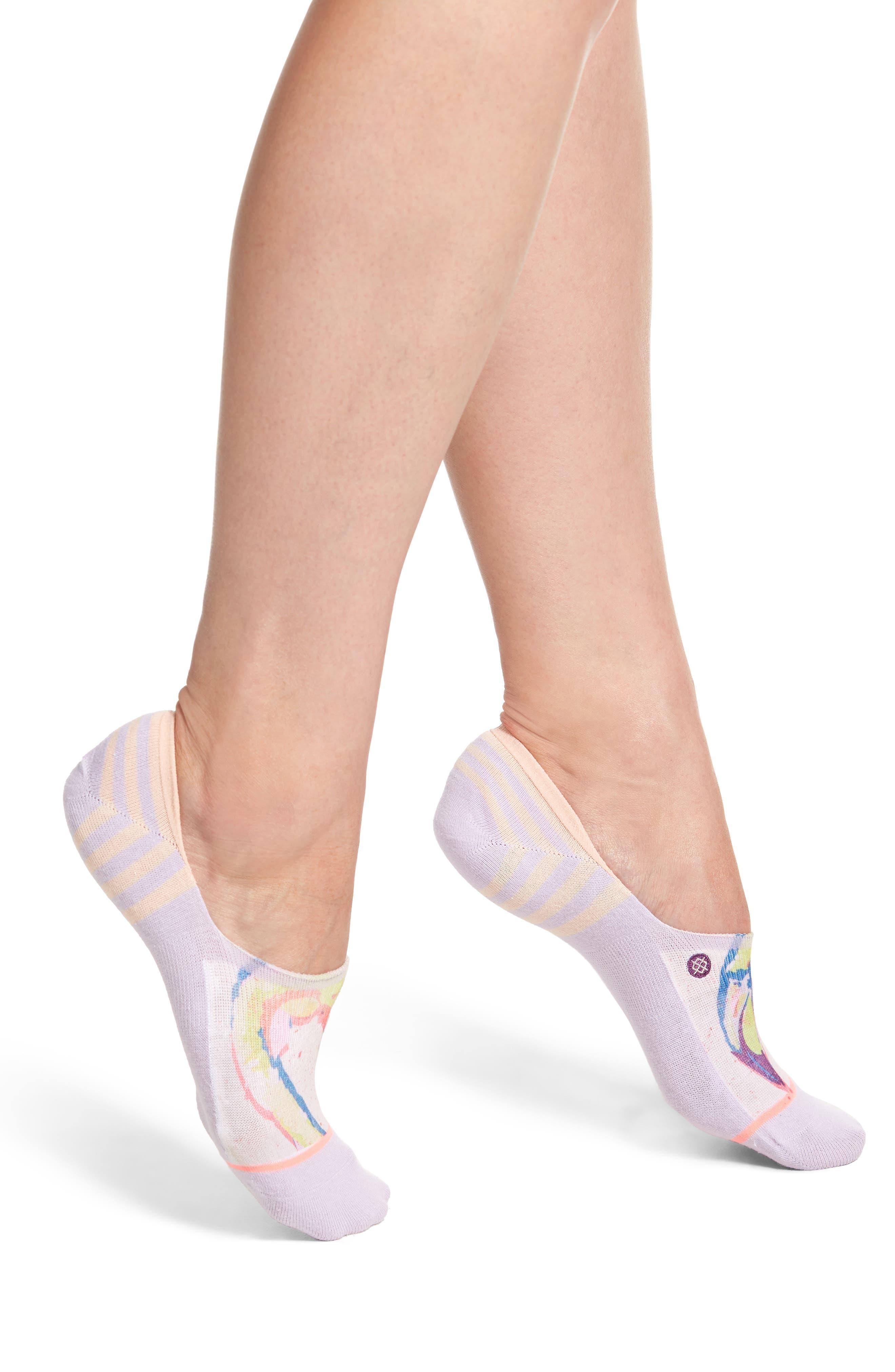 Bird Brain Super Invisible No-Show Socks,                         Main,                         color, 530