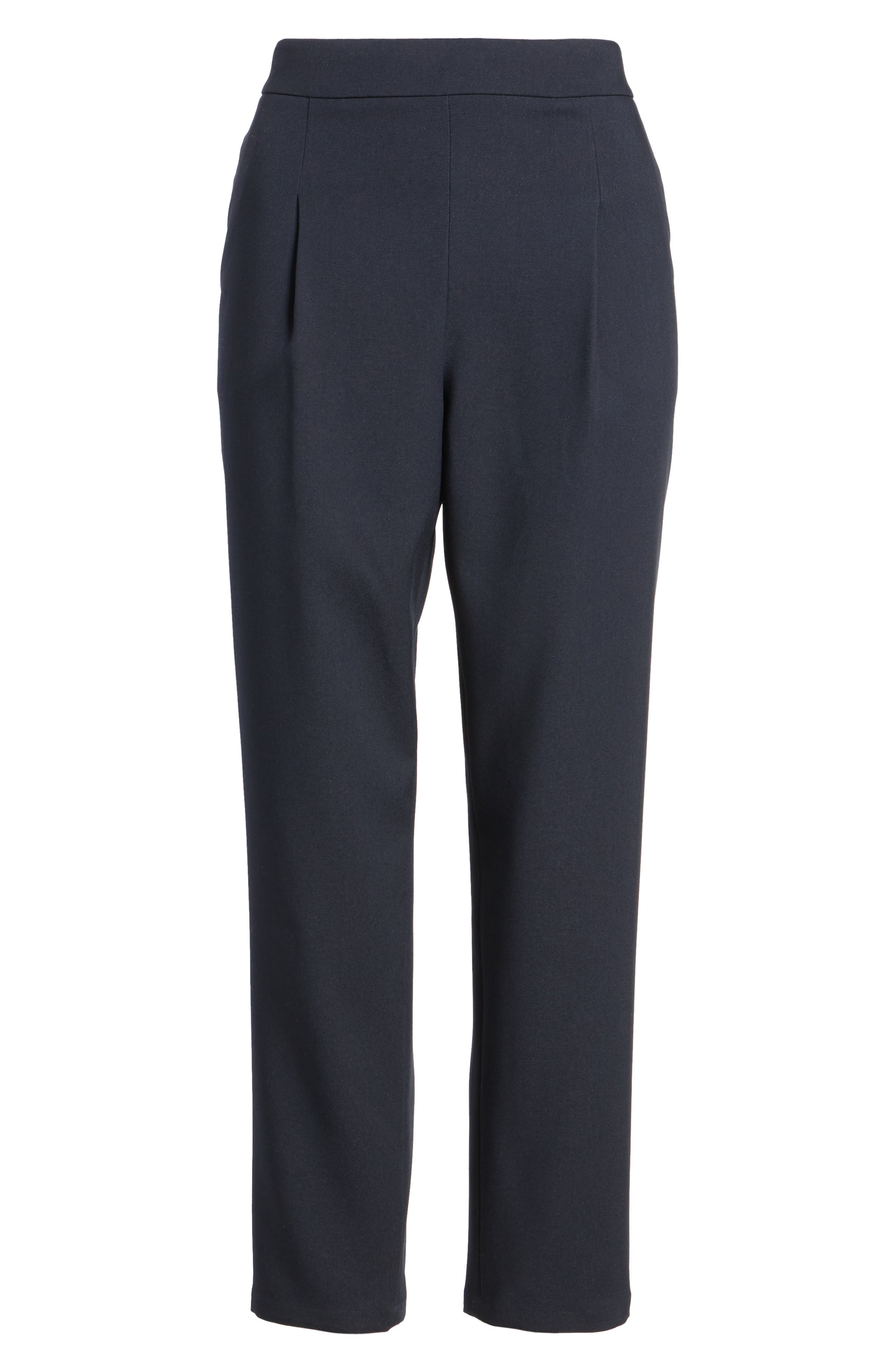 Twill Ankle Pants,                             Alternate thumbnail 12, color,