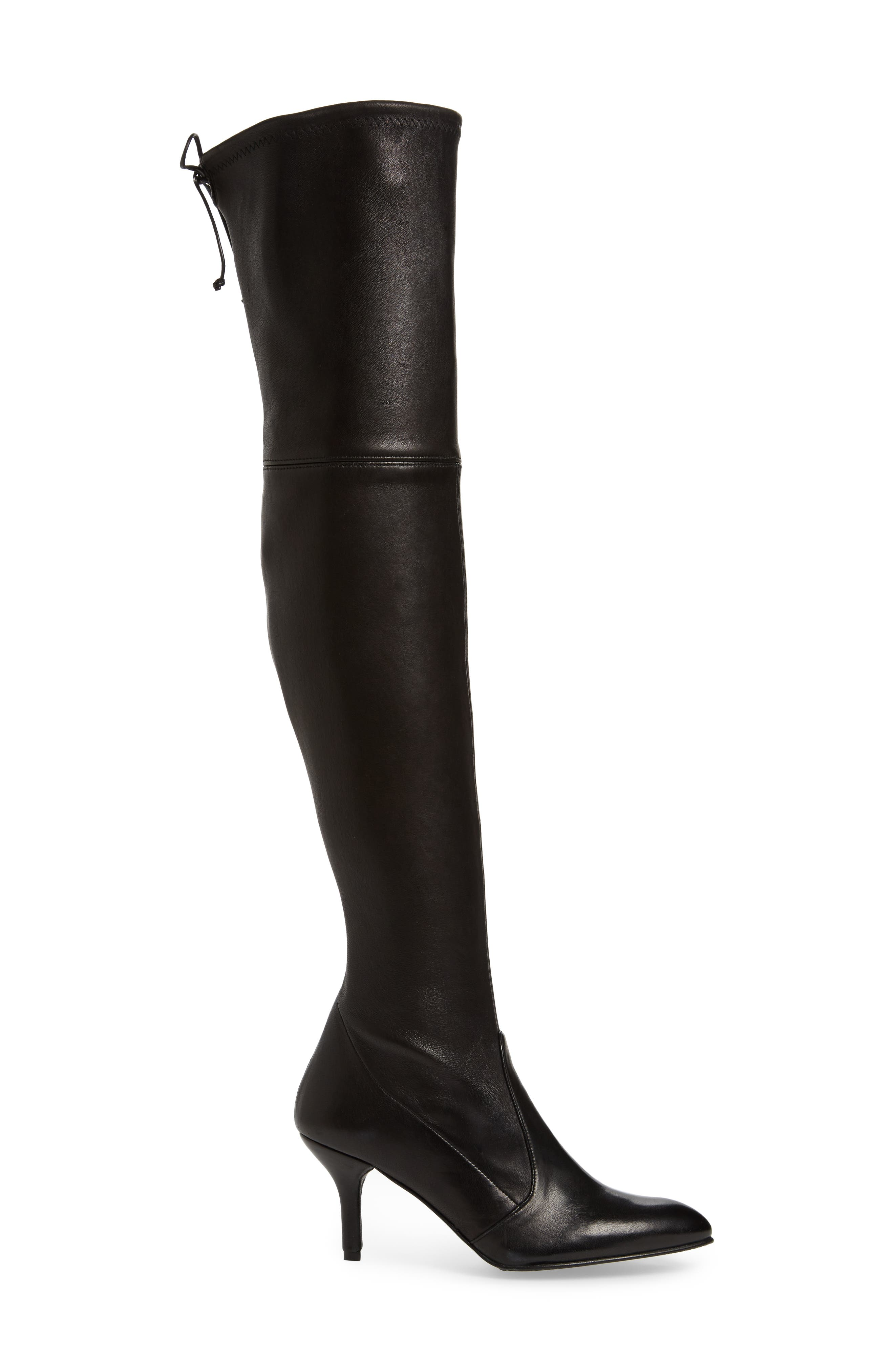 Tiemodel Over the Knee Stretch Boot,                             Alternate thumbnail 3, color,                             002