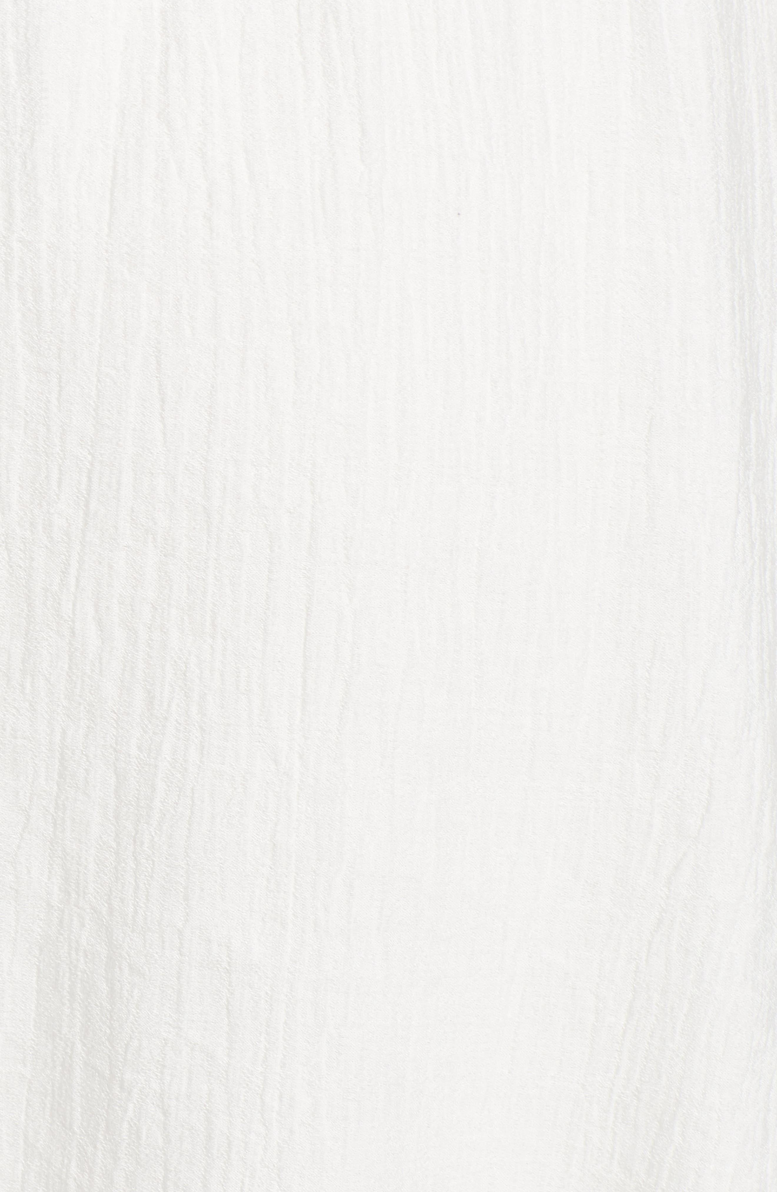 Magnolia Flutter Sleeve Dress,                             Alternate thumbnail 6, color,                             100
