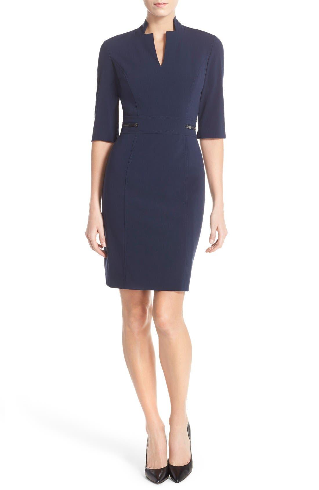 Sheath Dress,                             Main thumbnail 8, color,