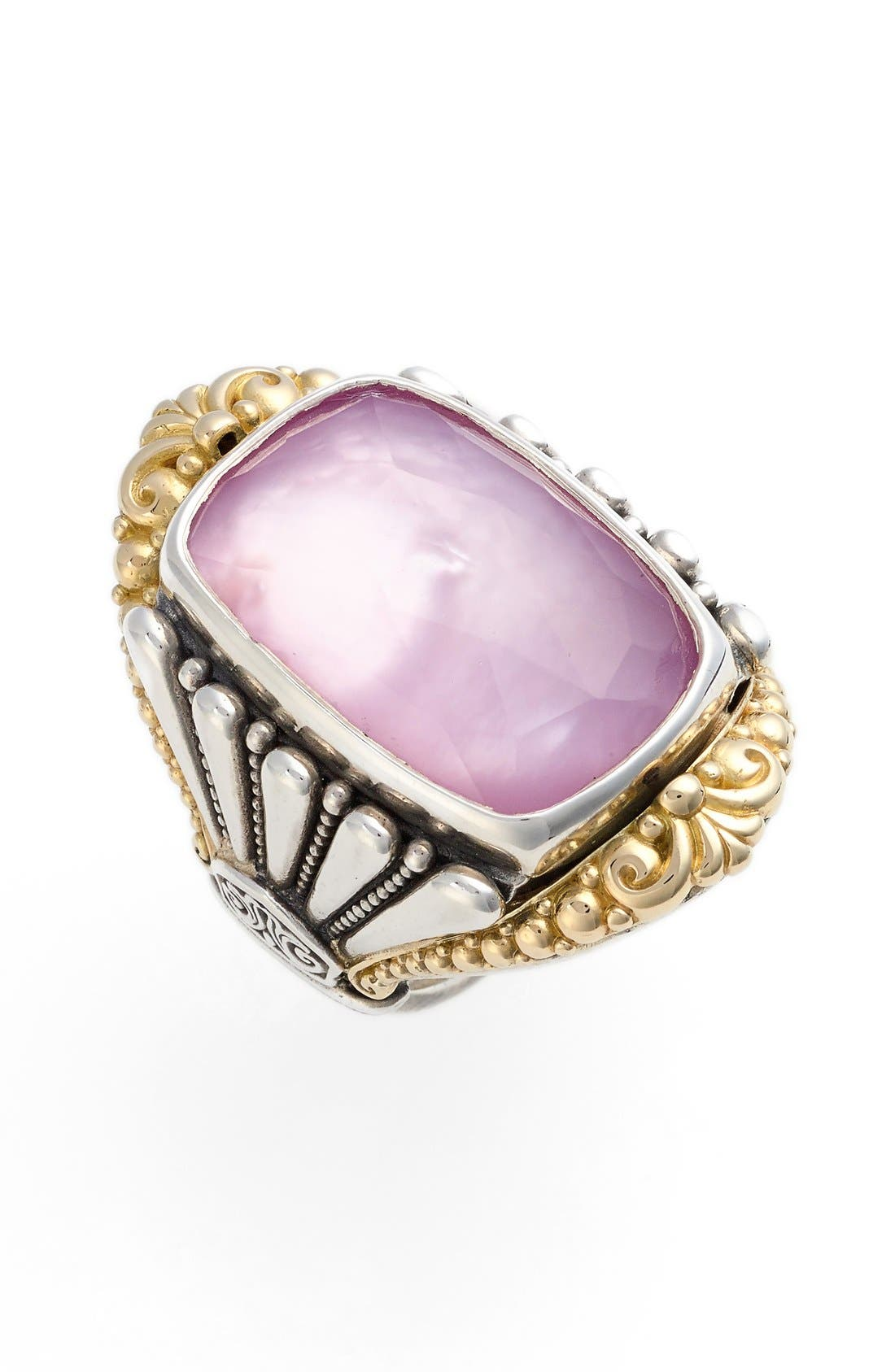 'Iliada' Large Doublet Ring,                             Main thumbnail 1, color,                             040