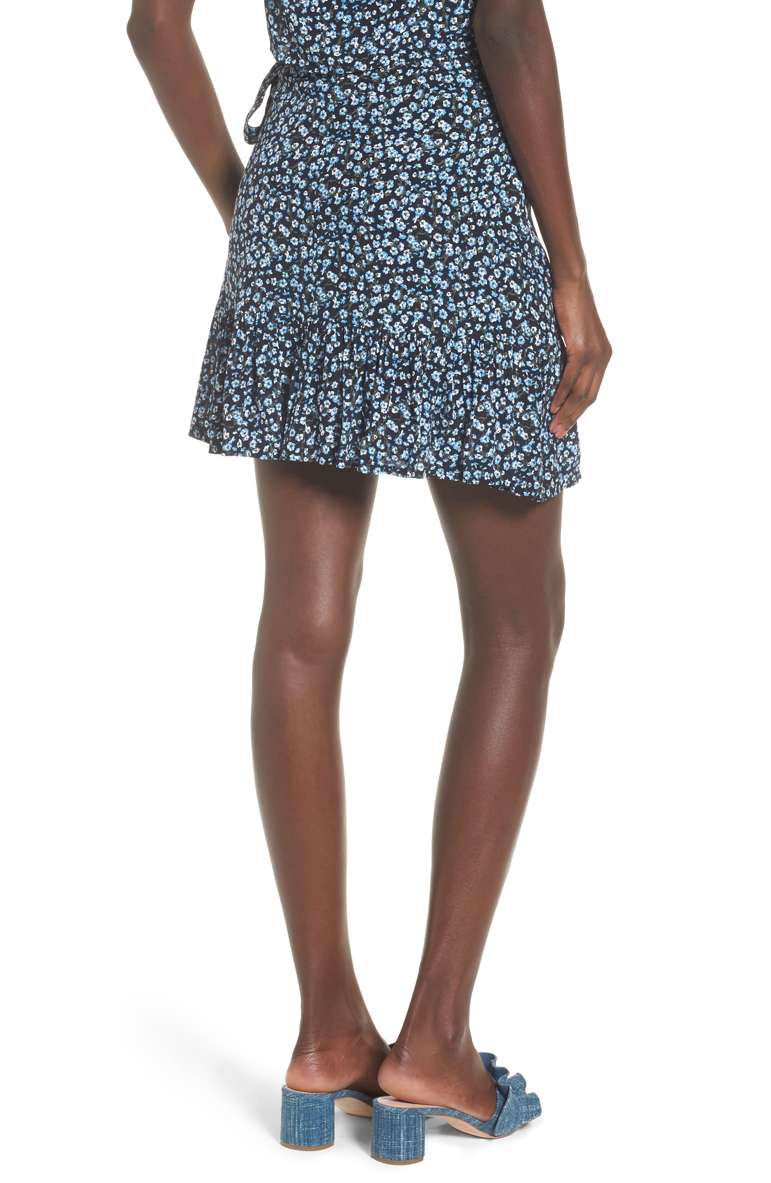 Gilda Floral Skirt,                             Alternate thumbnail 2, color,