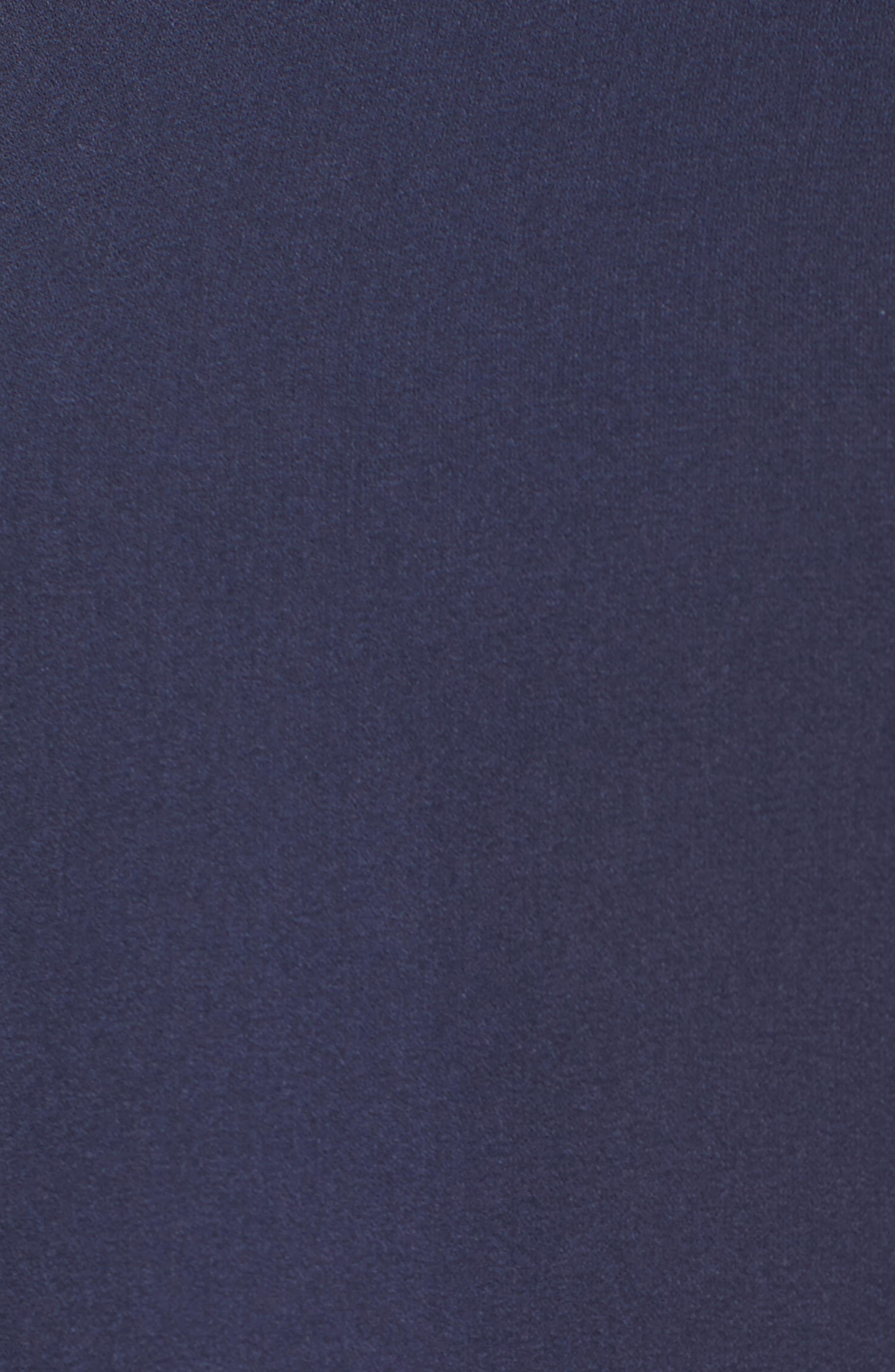 Roll Neck Ruffle Dress,                             Alternate thumbnail 6, color,                             410