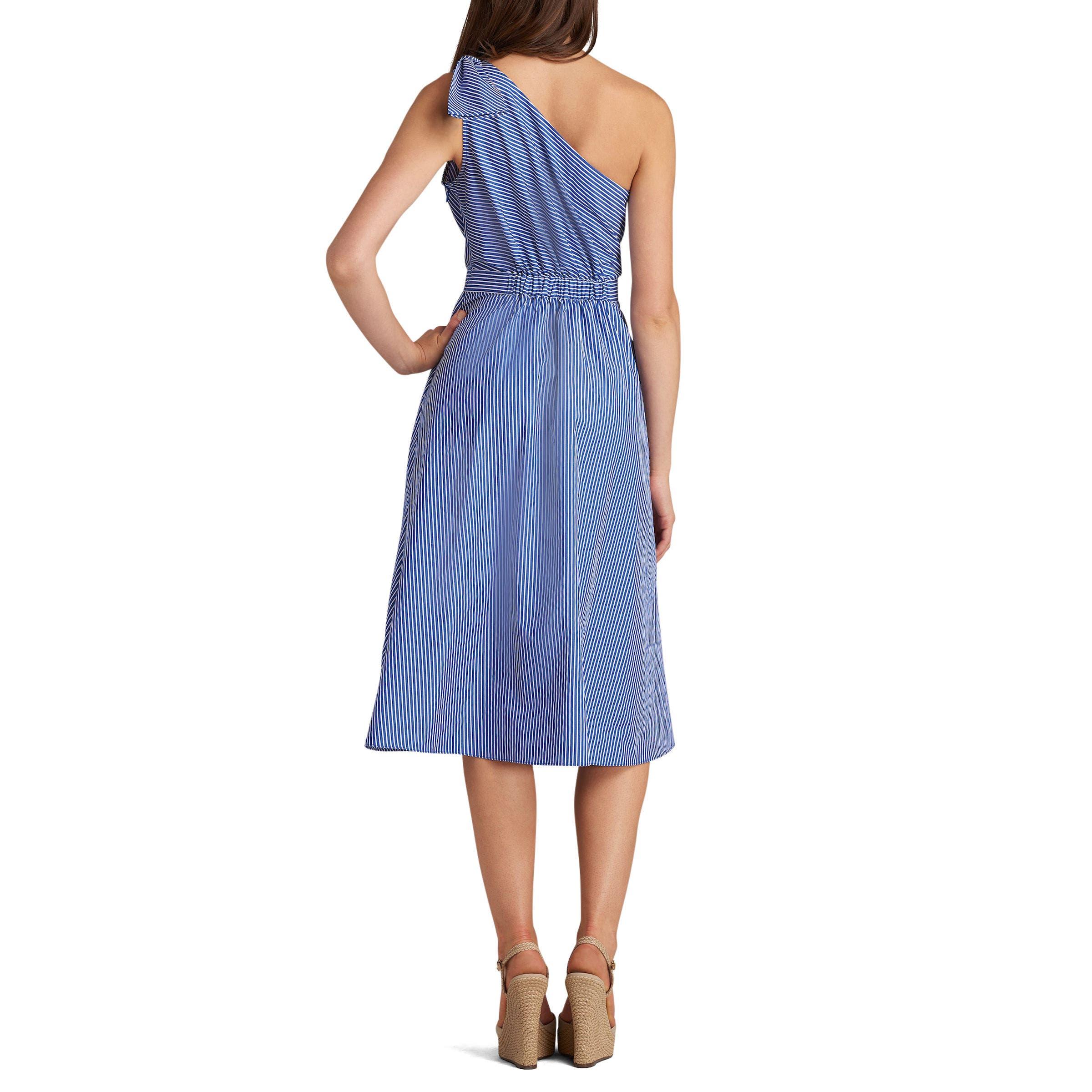 One-Shoulder Dress,                             Alternate thumbnail 2, color,                             420
