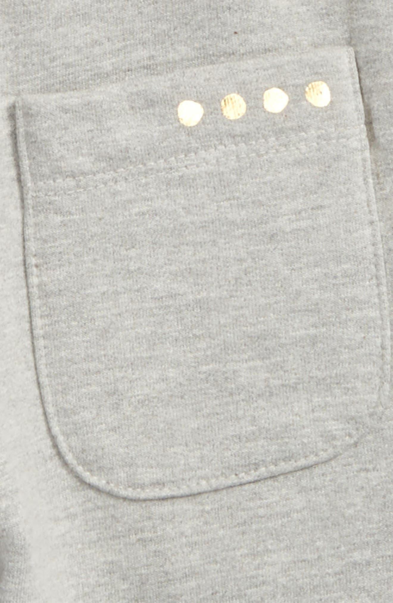 Ryan Organic Cotton Harem Pants,                             Alternate thumbnail 3, color,                             050