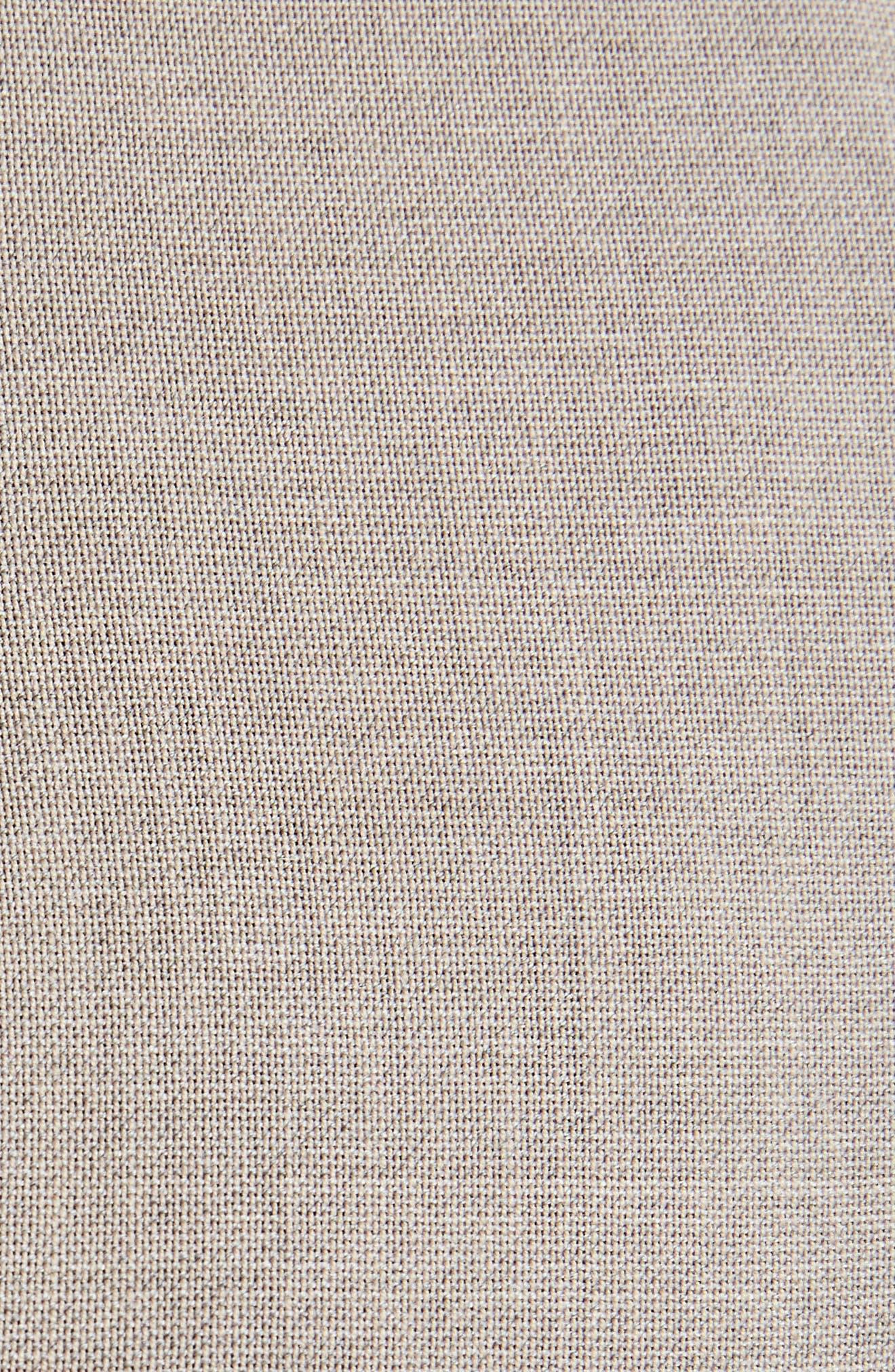 Toni Fluid Wide Leg Wool Pants,                             Alternate thumbnail 5, color,                             250