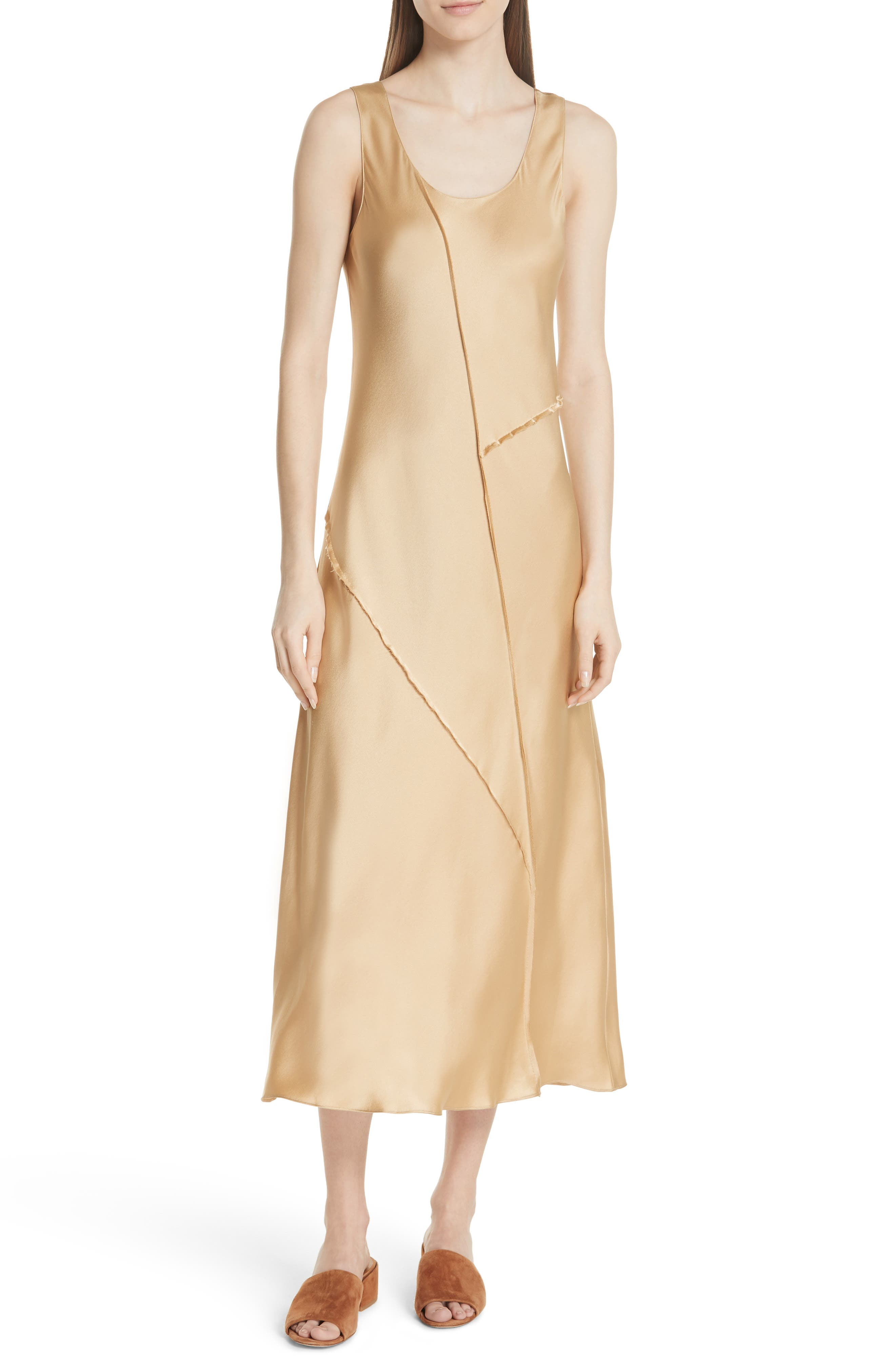Silk Tank Dress by Vince