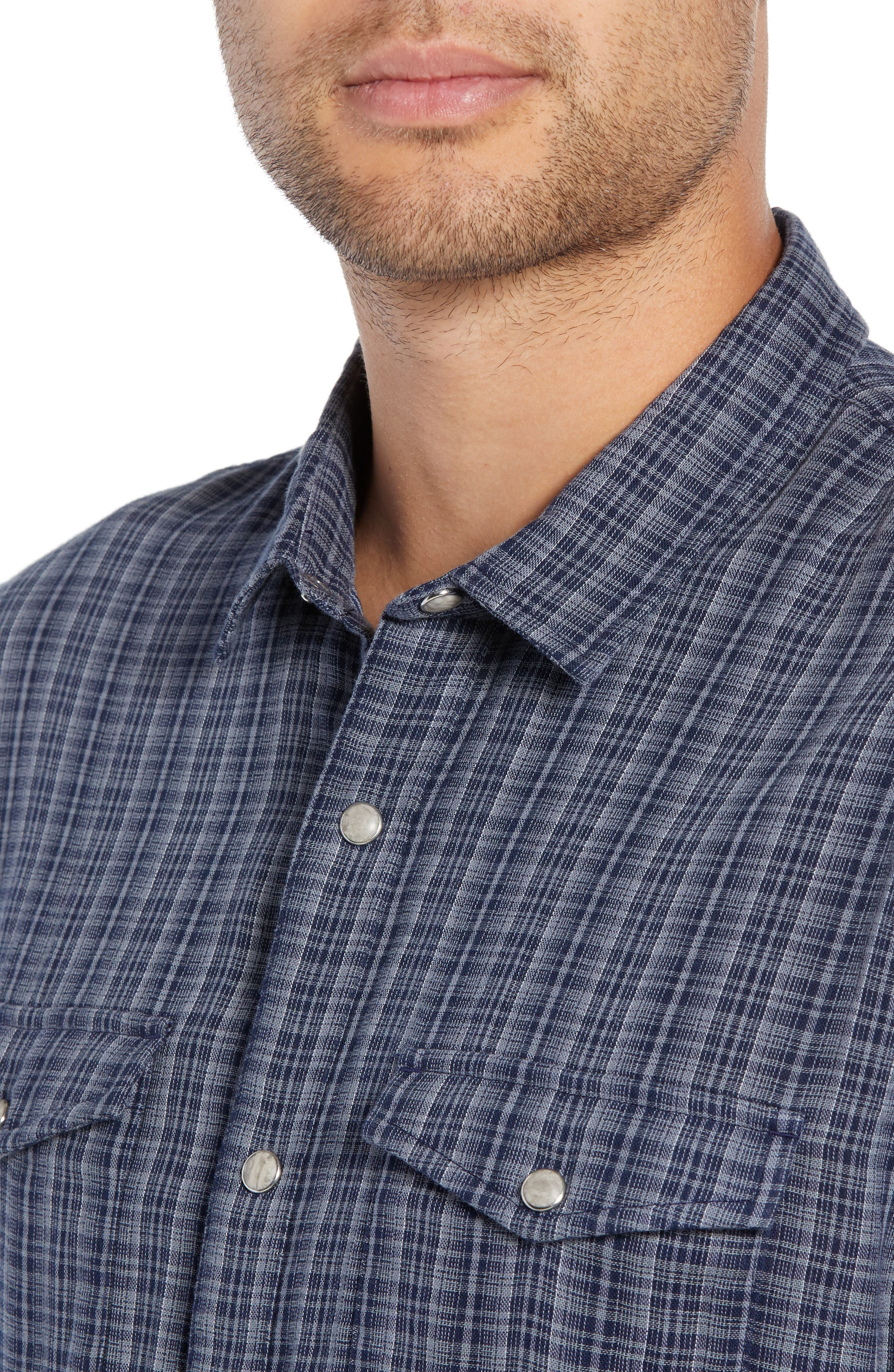 Regular Fit Double Pocket Sport Shirt,                             Alternate thumbnail 2, color,                             NIGHT SKY