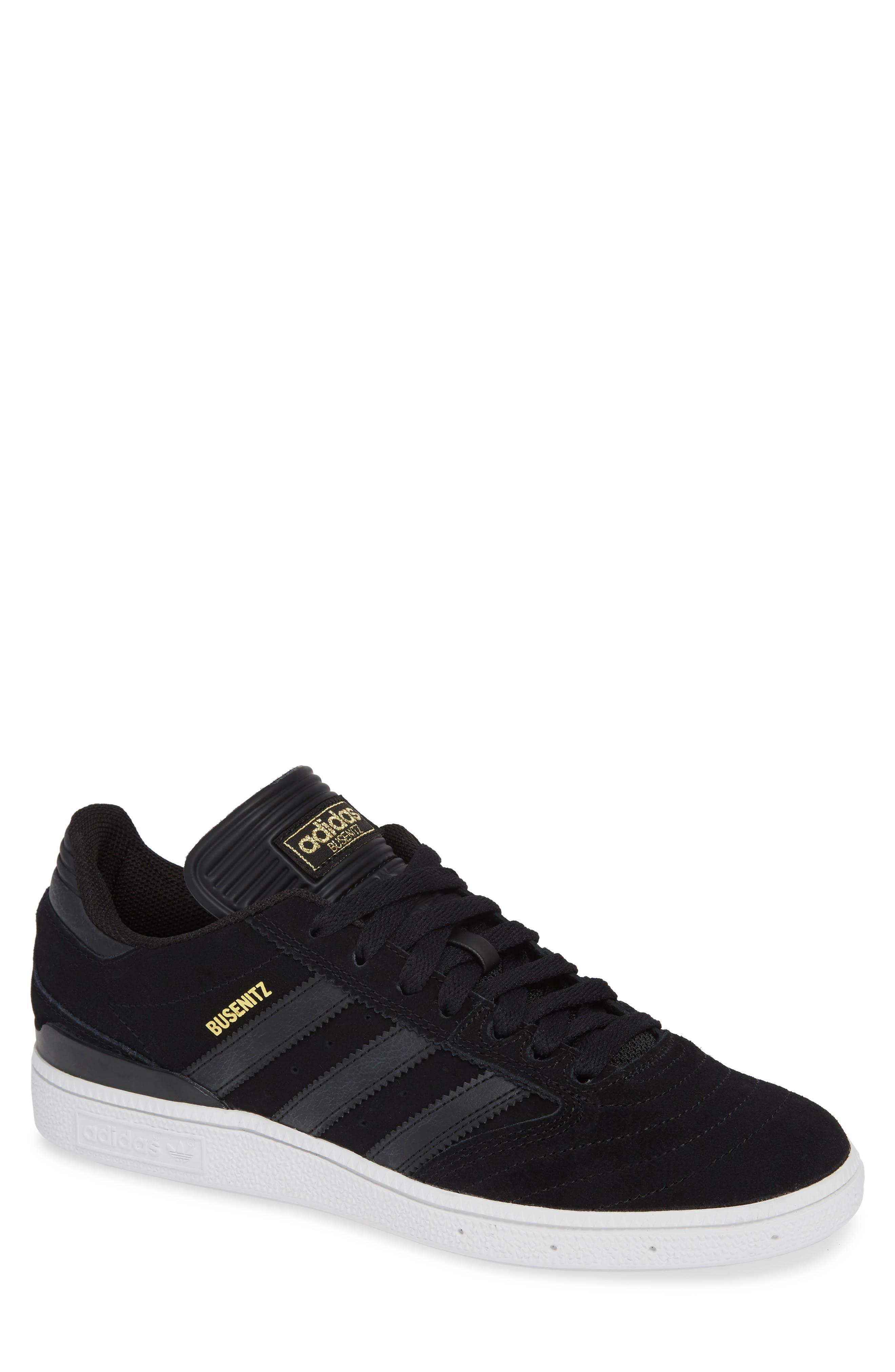 Busenitz Sneaker,                         Main,                         color, BLACK/ BLACK/ WHITE