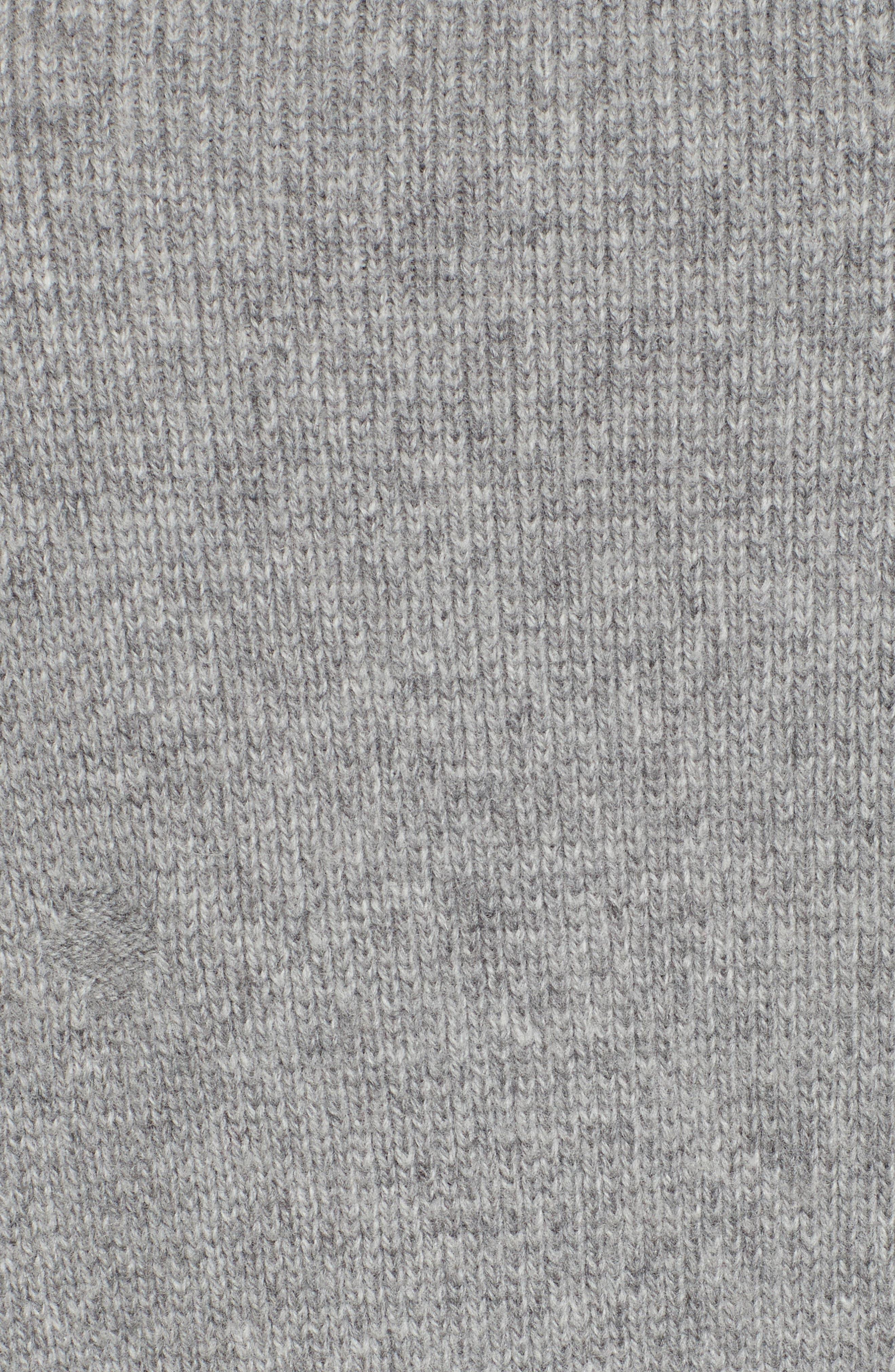 Concrete Wool Turtleneck Sweater,                             Alternate thumbnail 5, color,                             050