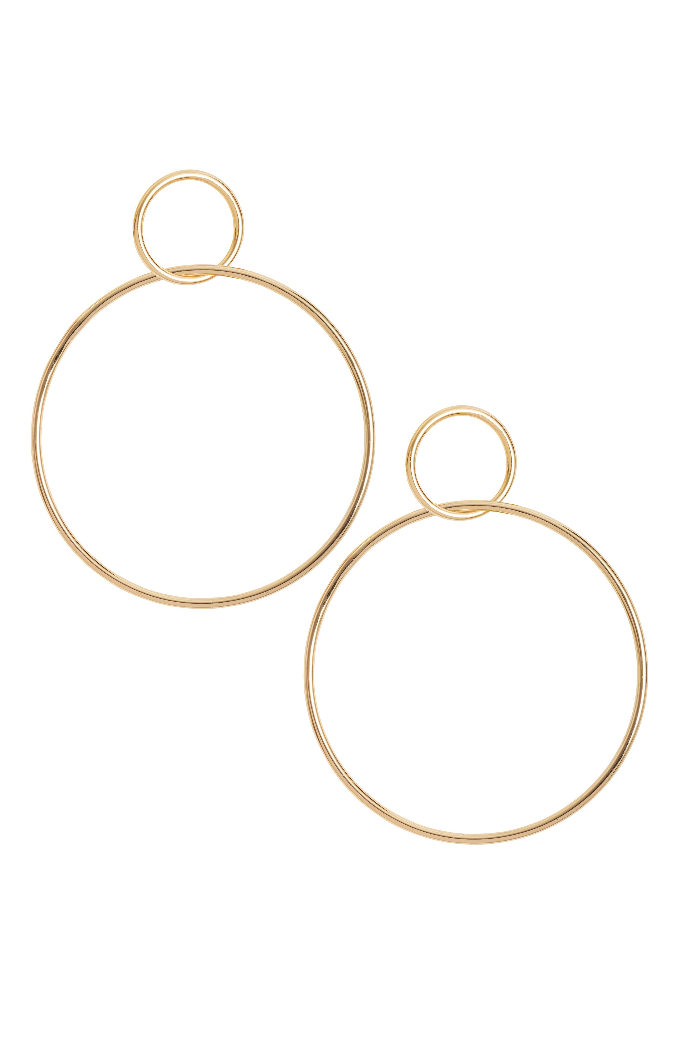 Circle Hoop Earrings,                             Main thumbnail 2, color,