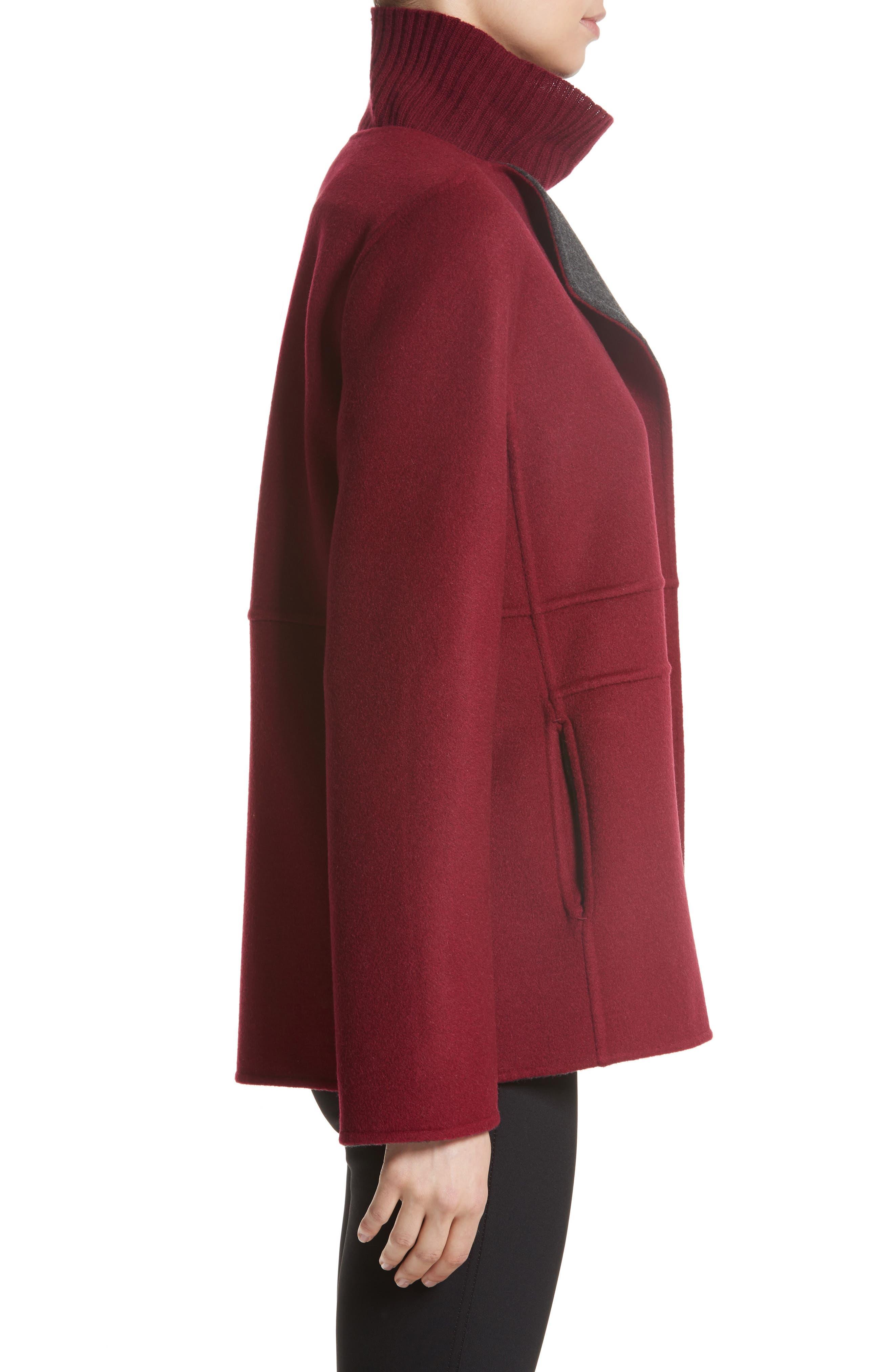 Two-Tone Double Face Reversible Jacket,                             Alternate thumbnail 4, color,                             624