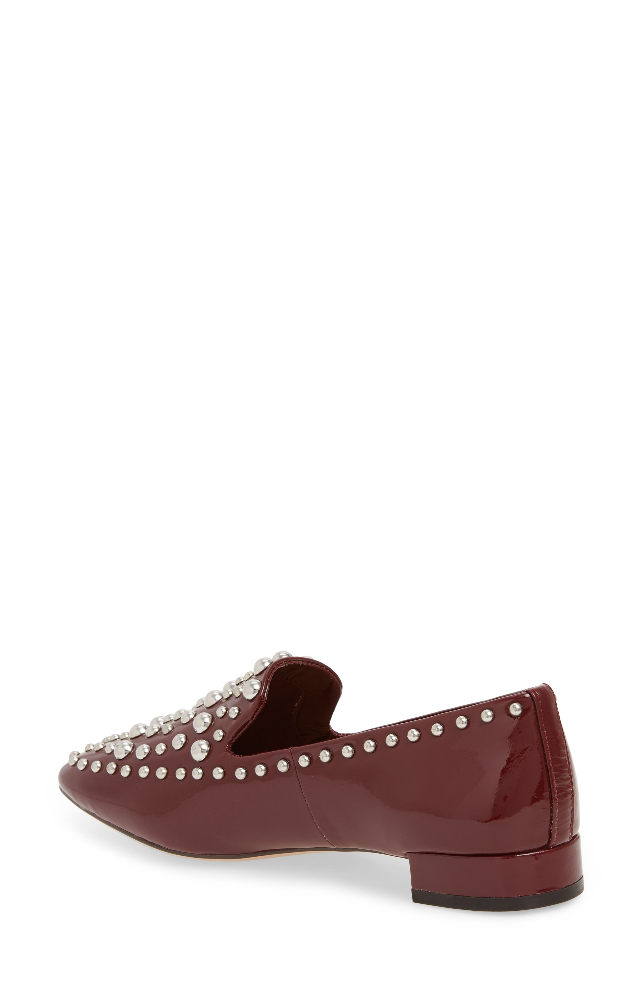 Kaylee Loafer,                             Alternate thumbnail 2, color,                             BERRY PATENT LEATHER