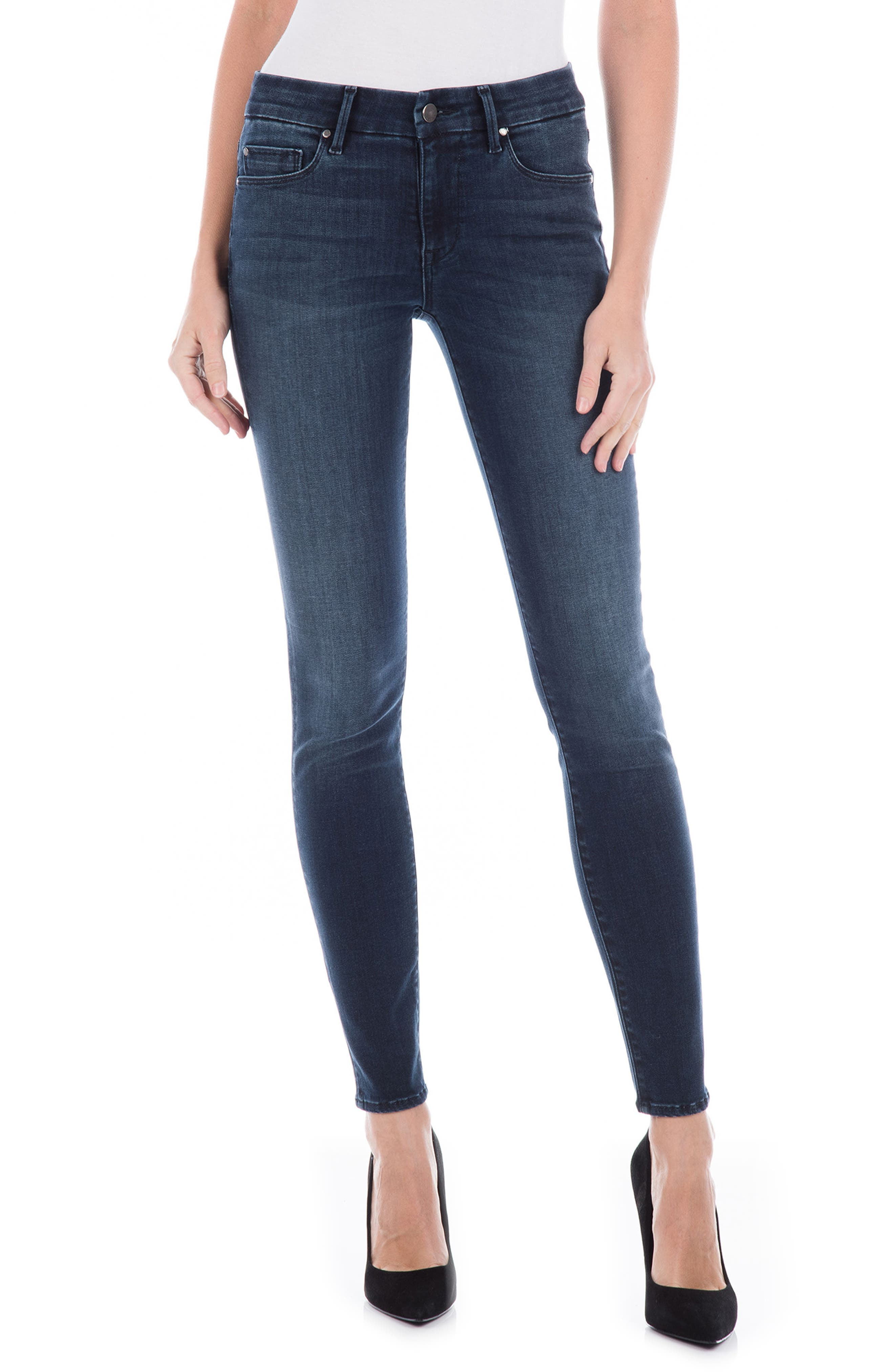 Sola Skinny Jeans, Main, color, 400