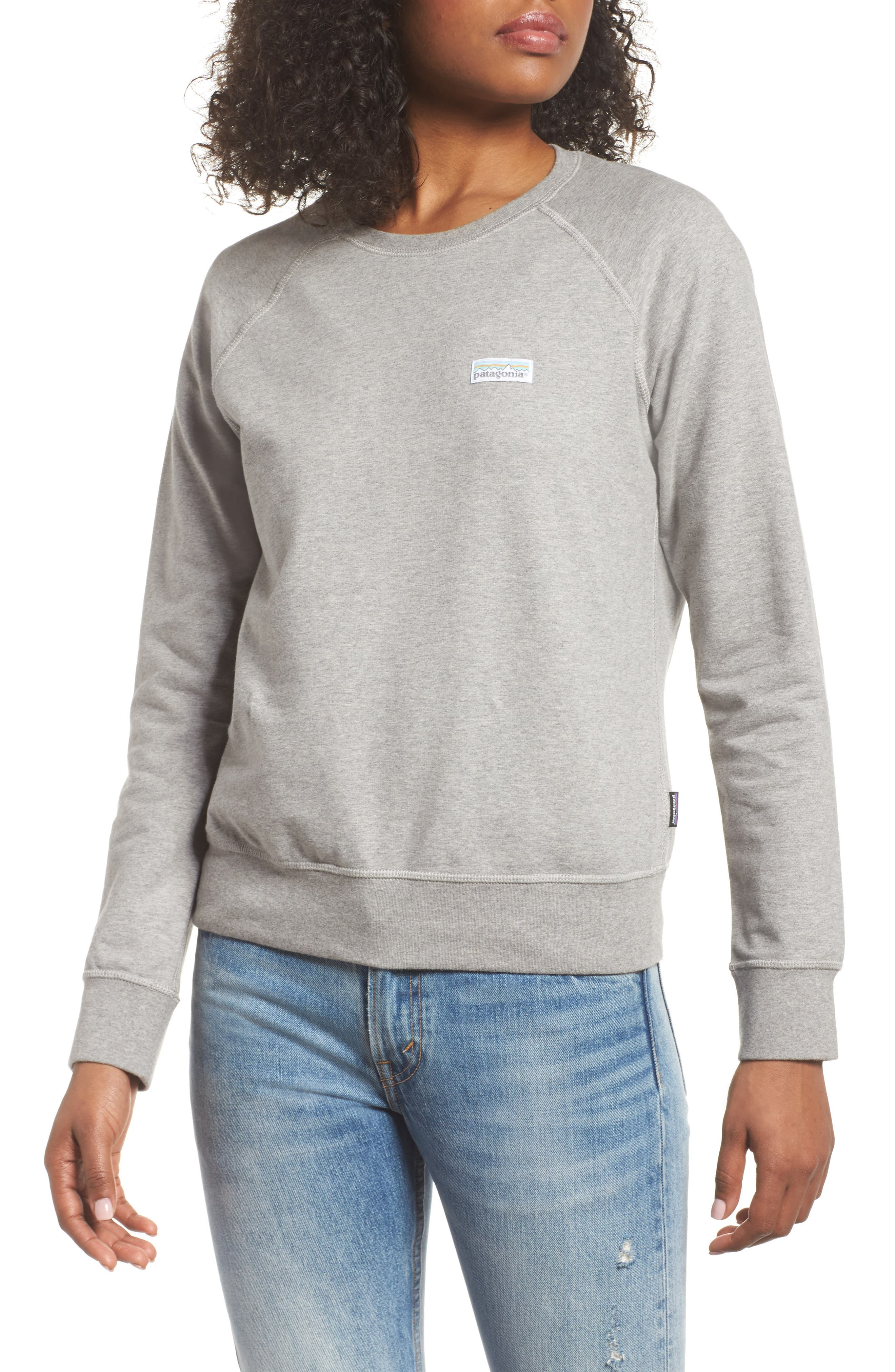 Pastel P-6 Label Midweight Sweatshirt,                         Main,                         color, 020
