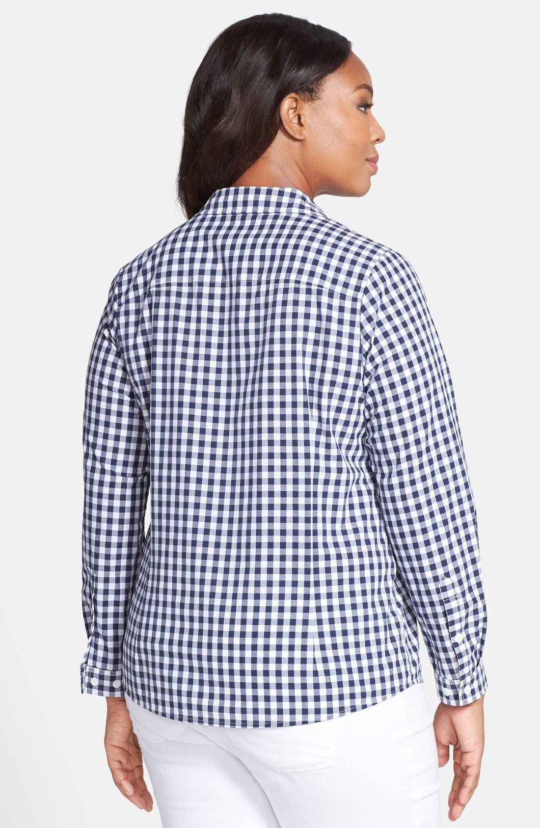 'Perfect' Gingham Shirt,                             Alternate thumbnail 2, color,                             480