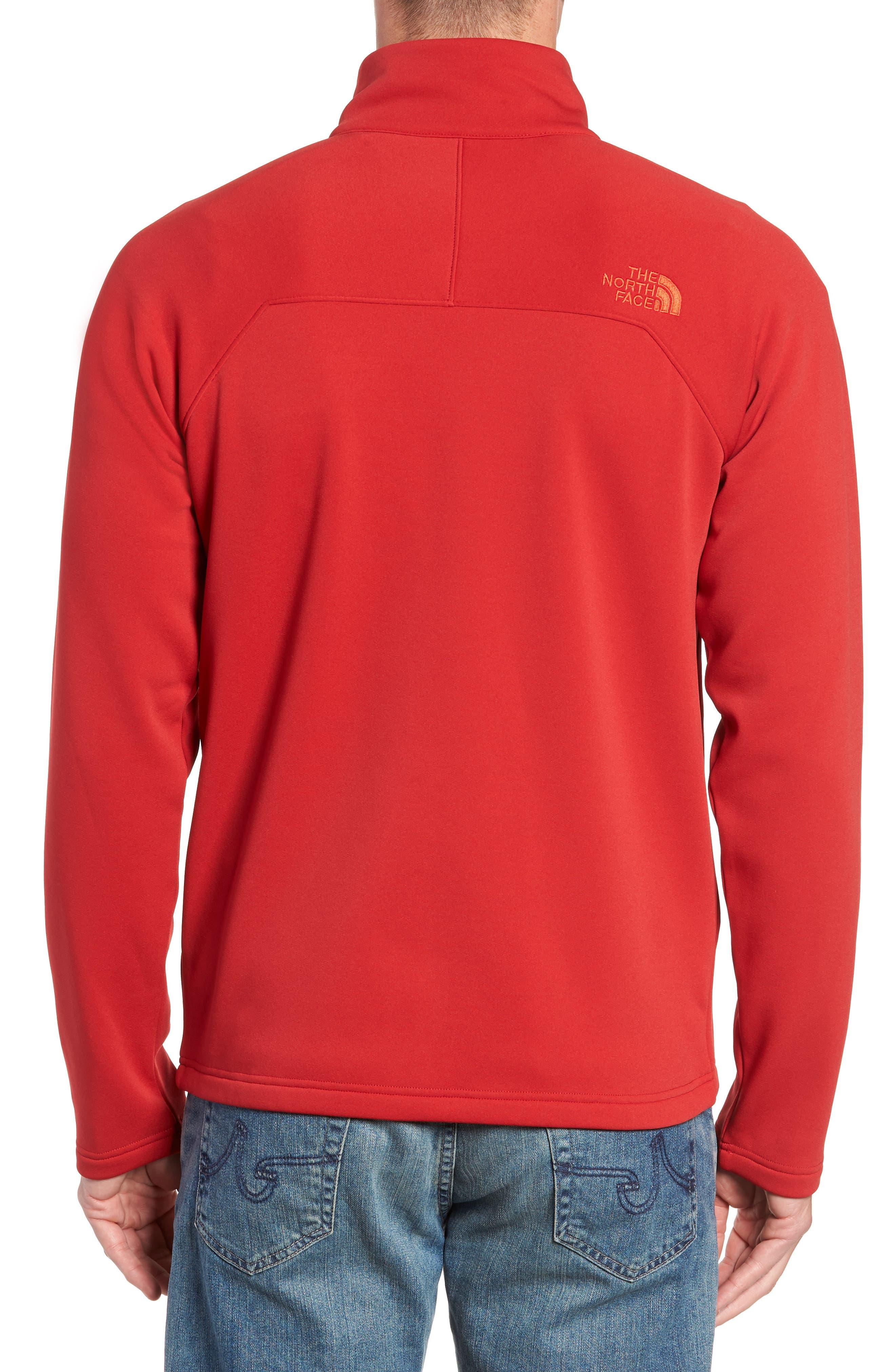 Tenacious Zip Jacket,                             Alternate thumbnail 2, color,                             RAGE RED