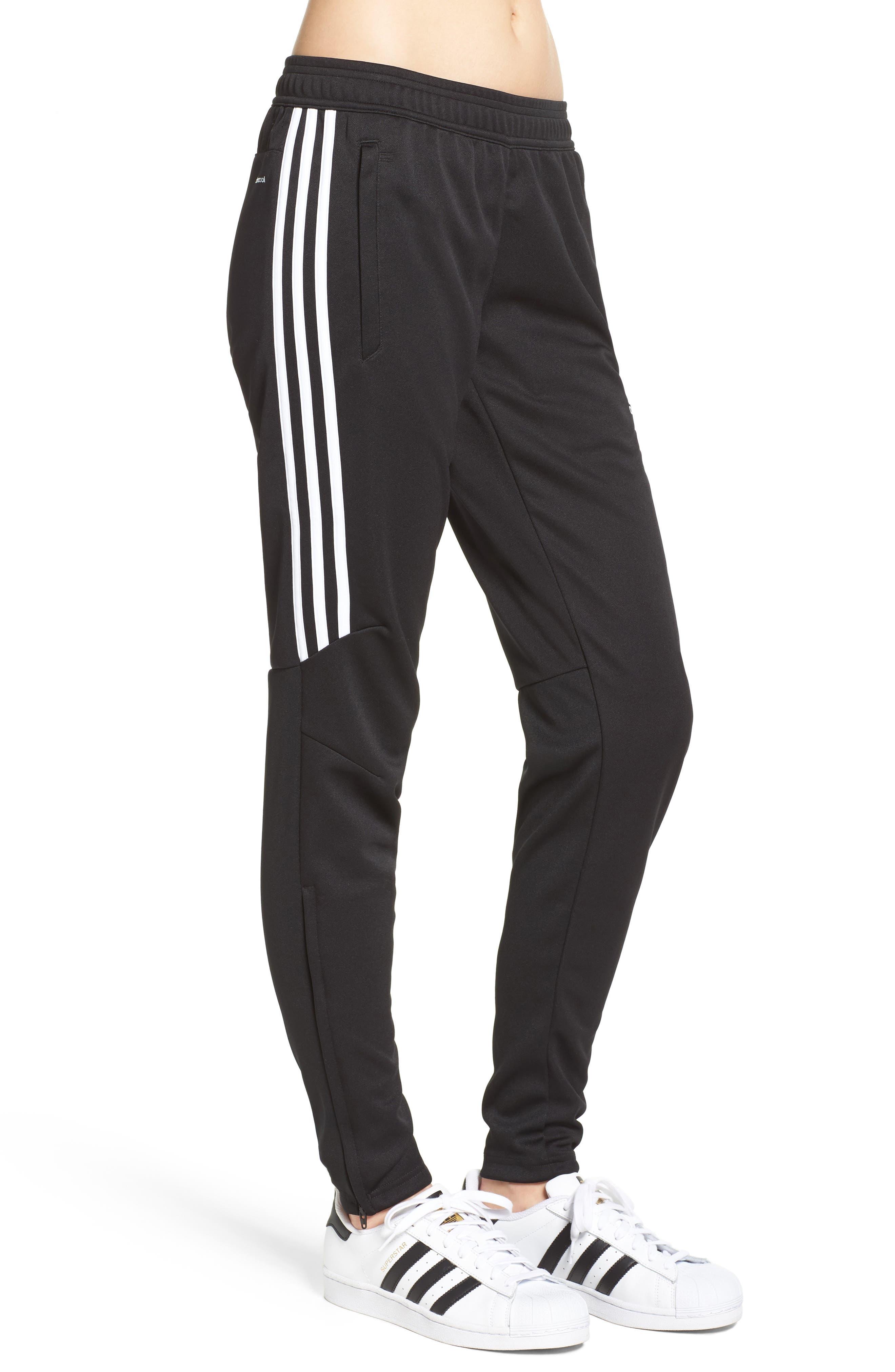 Tiro 17 Training Pants,                             Alternate thumbnail 3, color,                             BLACK/ WHITE/ WHITE