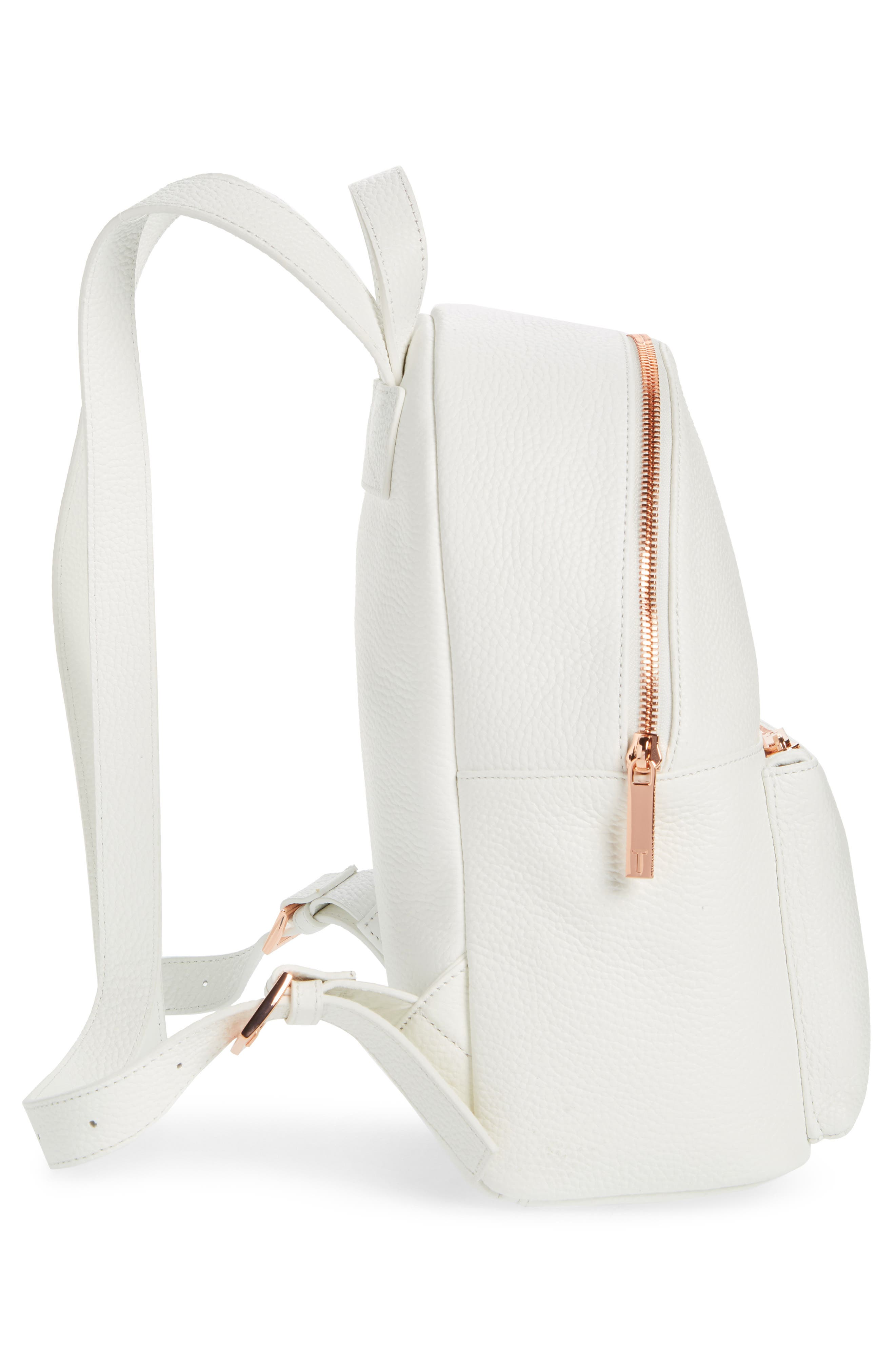 Pearen Leather Backpack,                             Alternate thumbnail 23, color,
