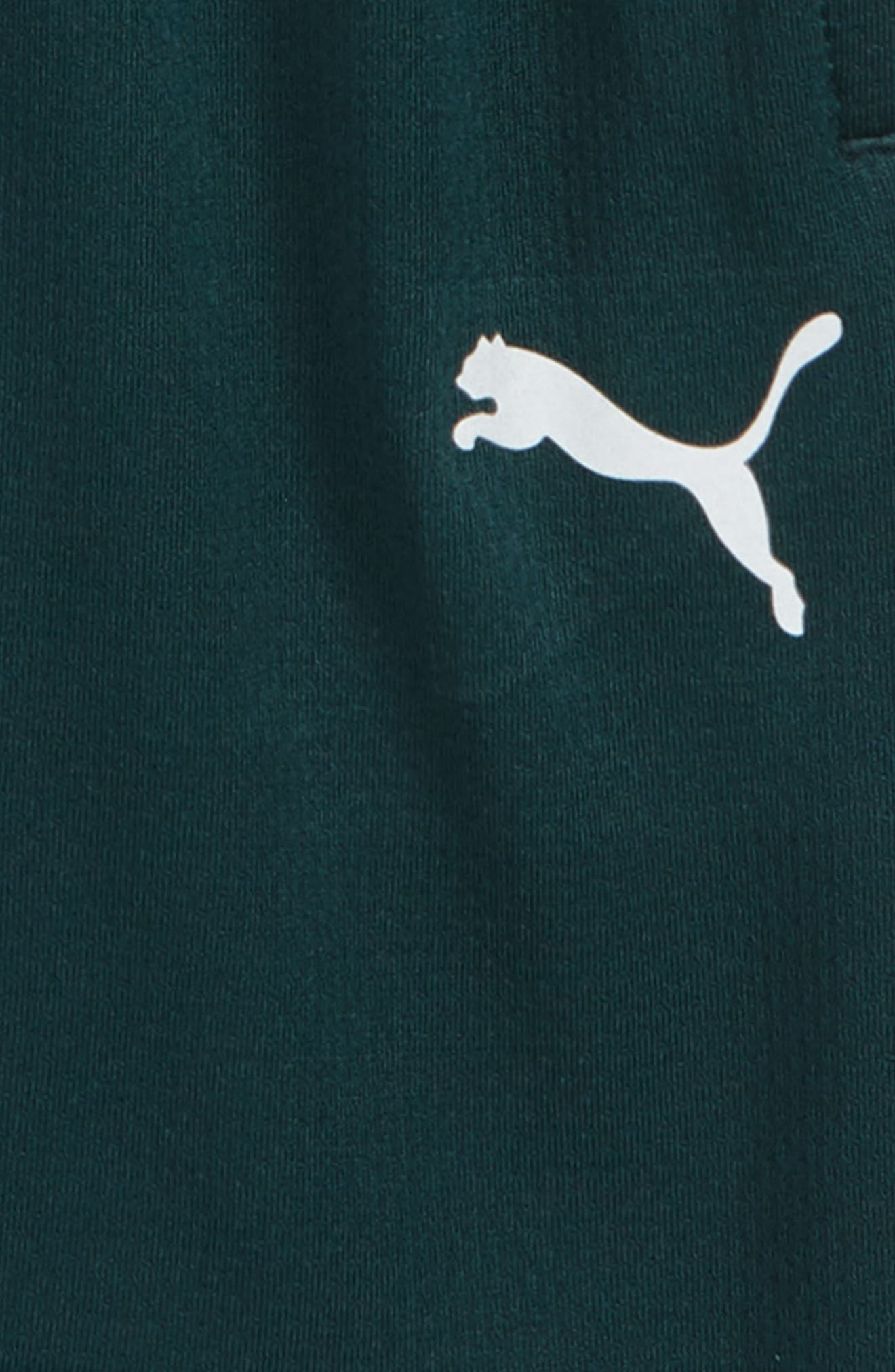 PUMA,                             Logo Performance Mesh Shorts,                             Alternate thumbnail 2, color,                             300