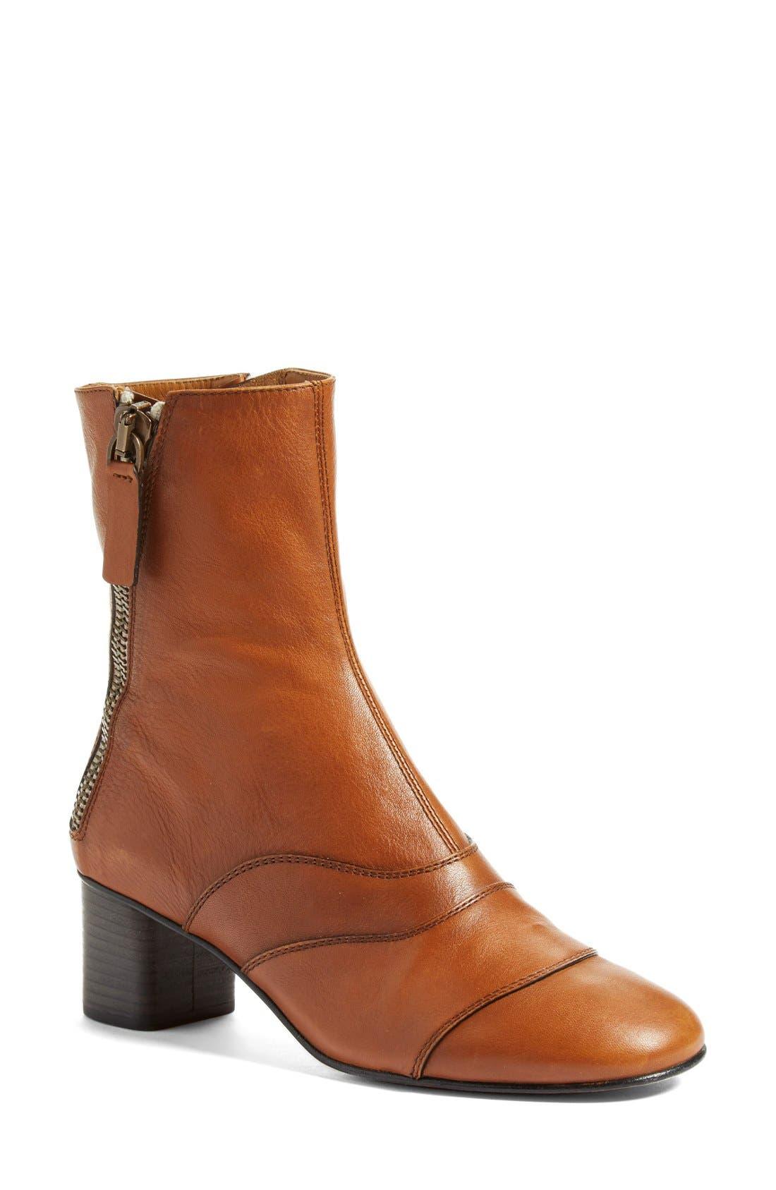 'Lexie' Block Heel Boot,                             Main thumbnail 2, color,