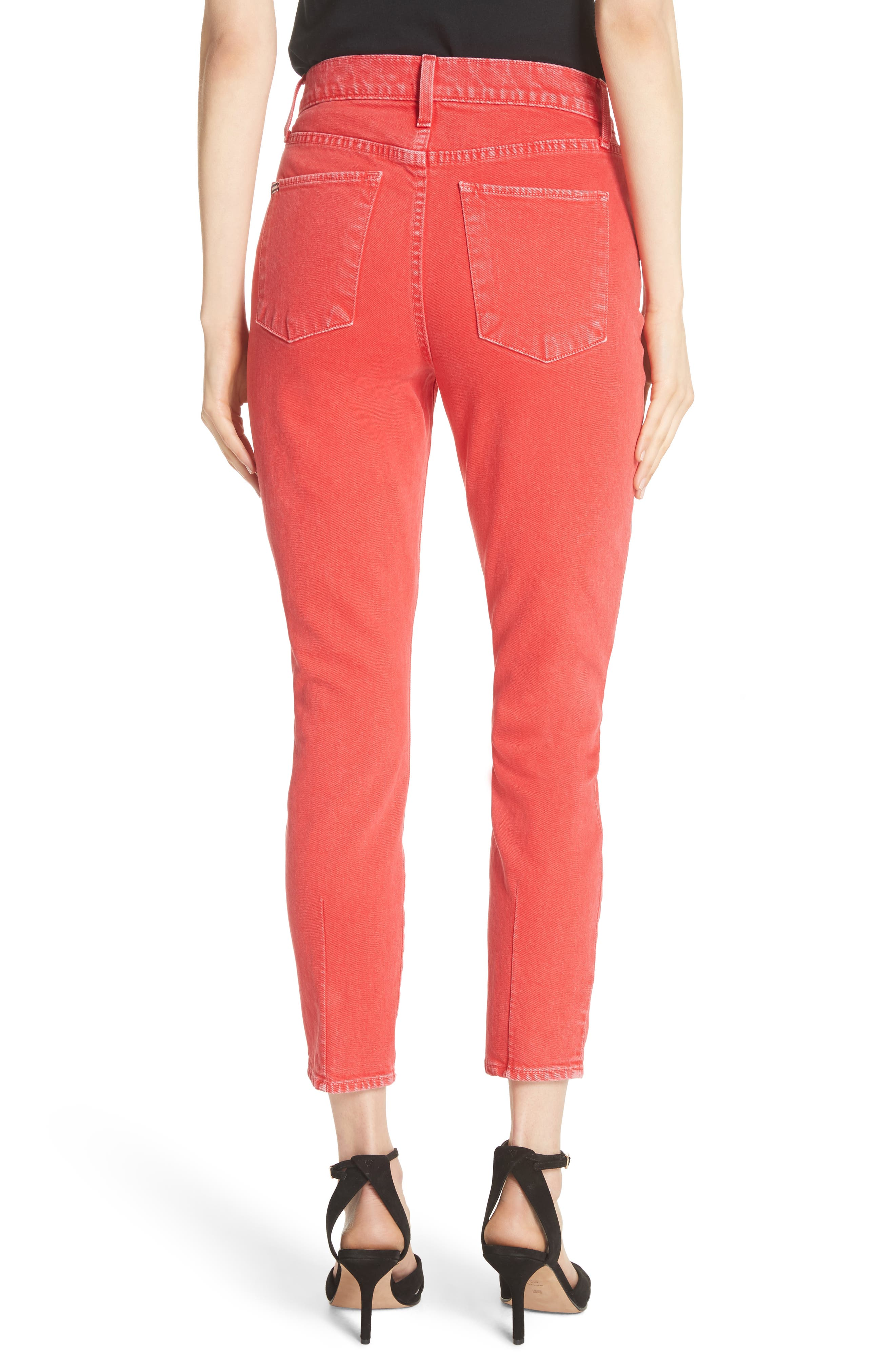 AO.LA Good High Rise Ankle Skinny Jeans,                             Alternate thumbnail 2, color,                             618