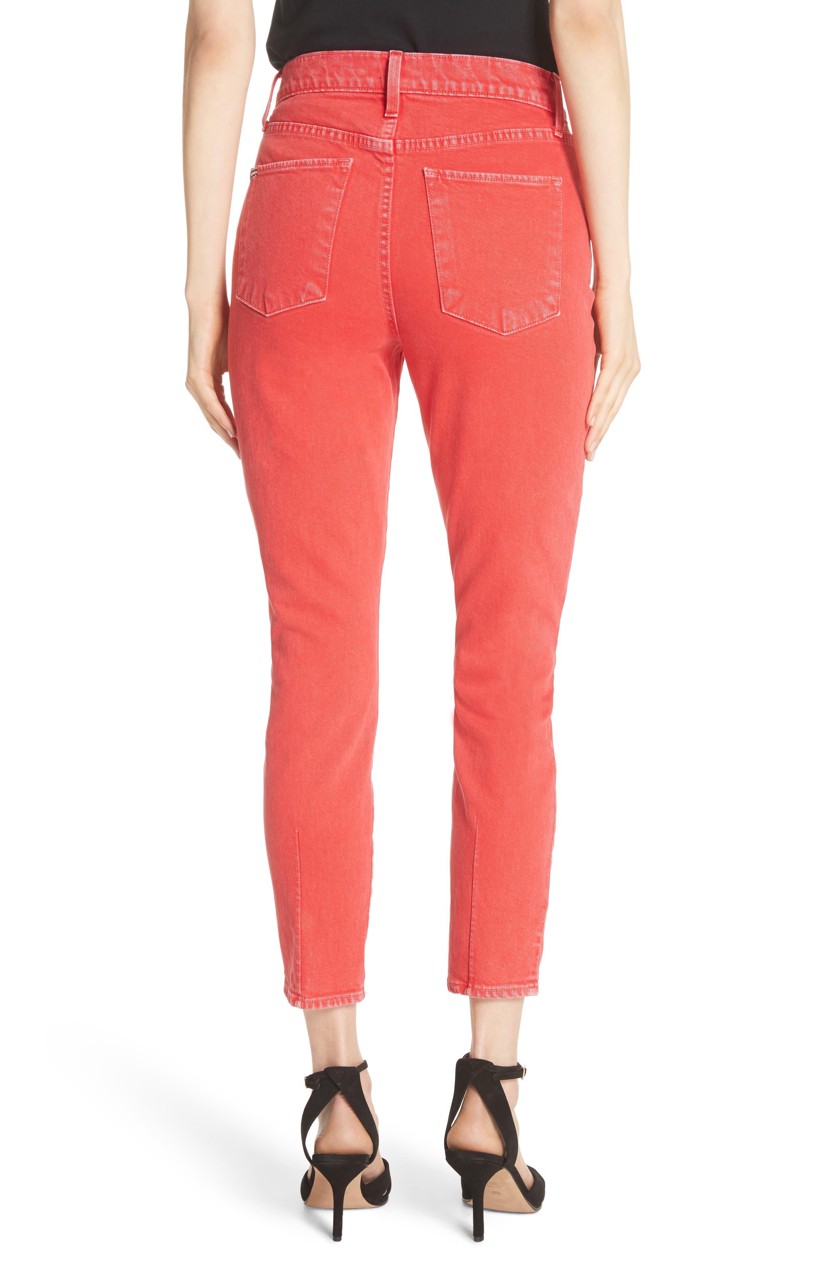 AO.LA Good High Rise Ankle Skinny Jeans,                             Alternate thumbnail 2, color,