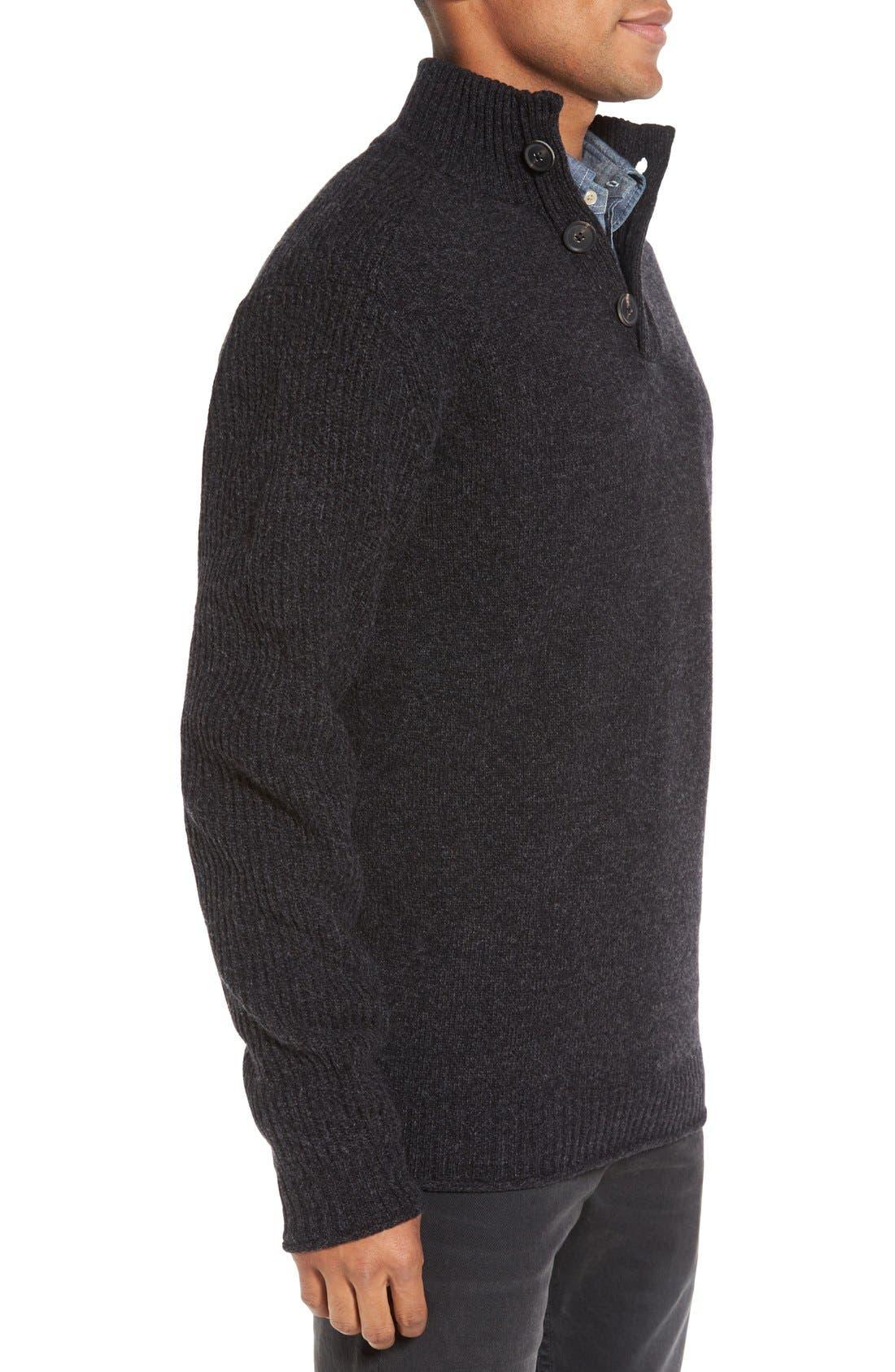 Birkenhead Mock Neck Sweater,                             Alternate thumbnail 3, color,                             021