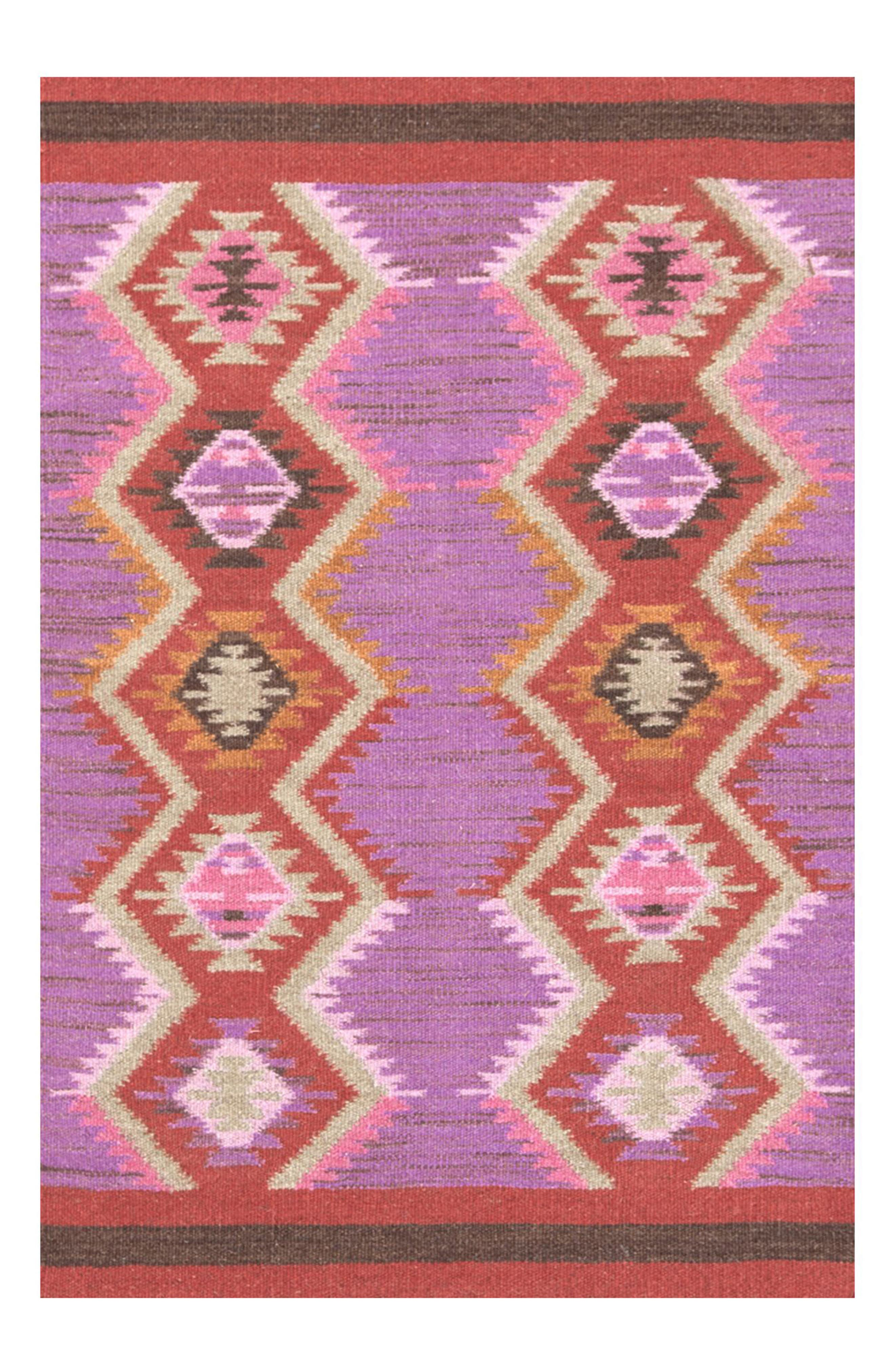 Rhapsody Wool Blend Rug,                         Main,                         color, PINK