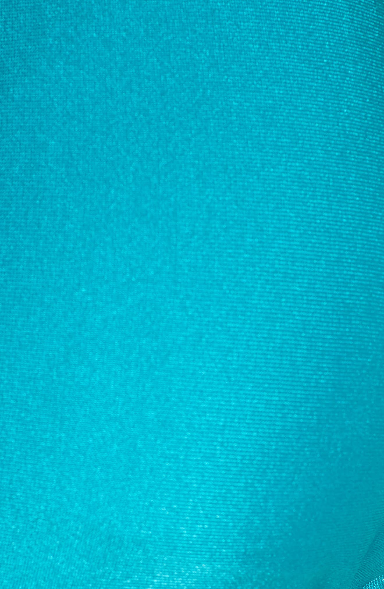 Shimmer Triangle Bikini Top,                             Alternate thumbnail 6, color,                             ARCADIA