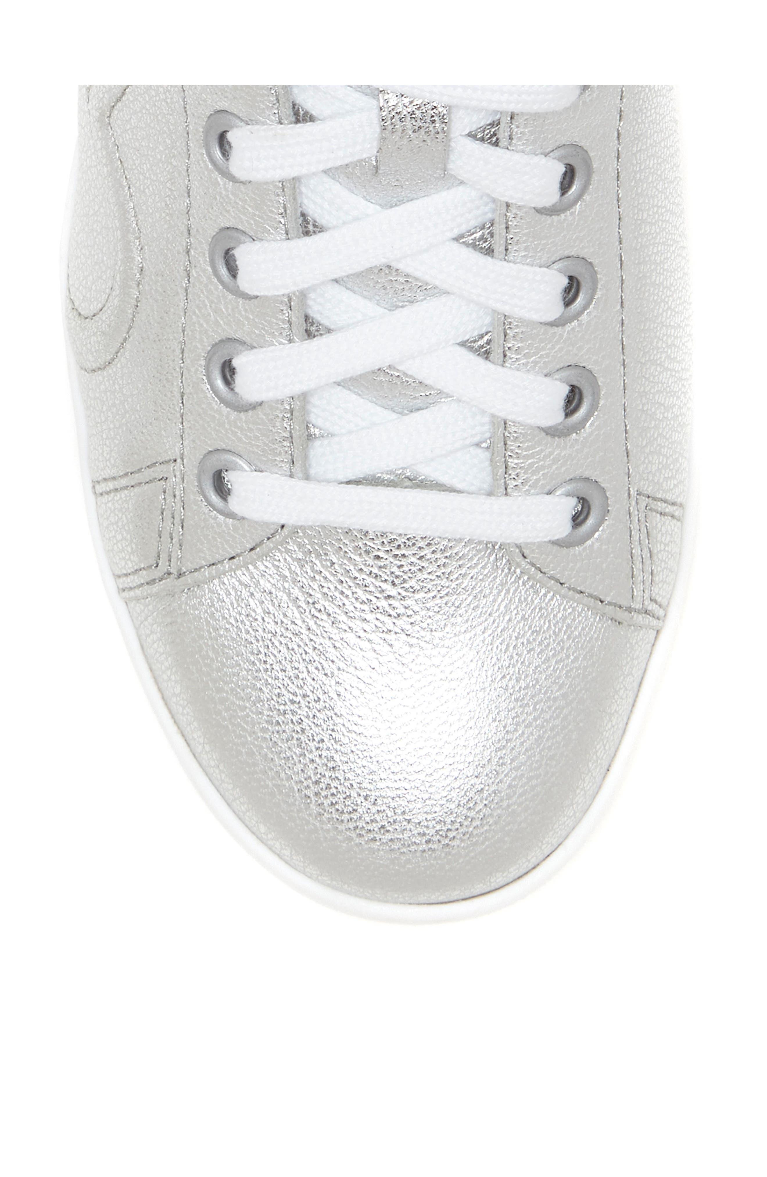Chapunto Sneaker,                             Alternate thumbnail 5, color,                             SILVER SUEDE