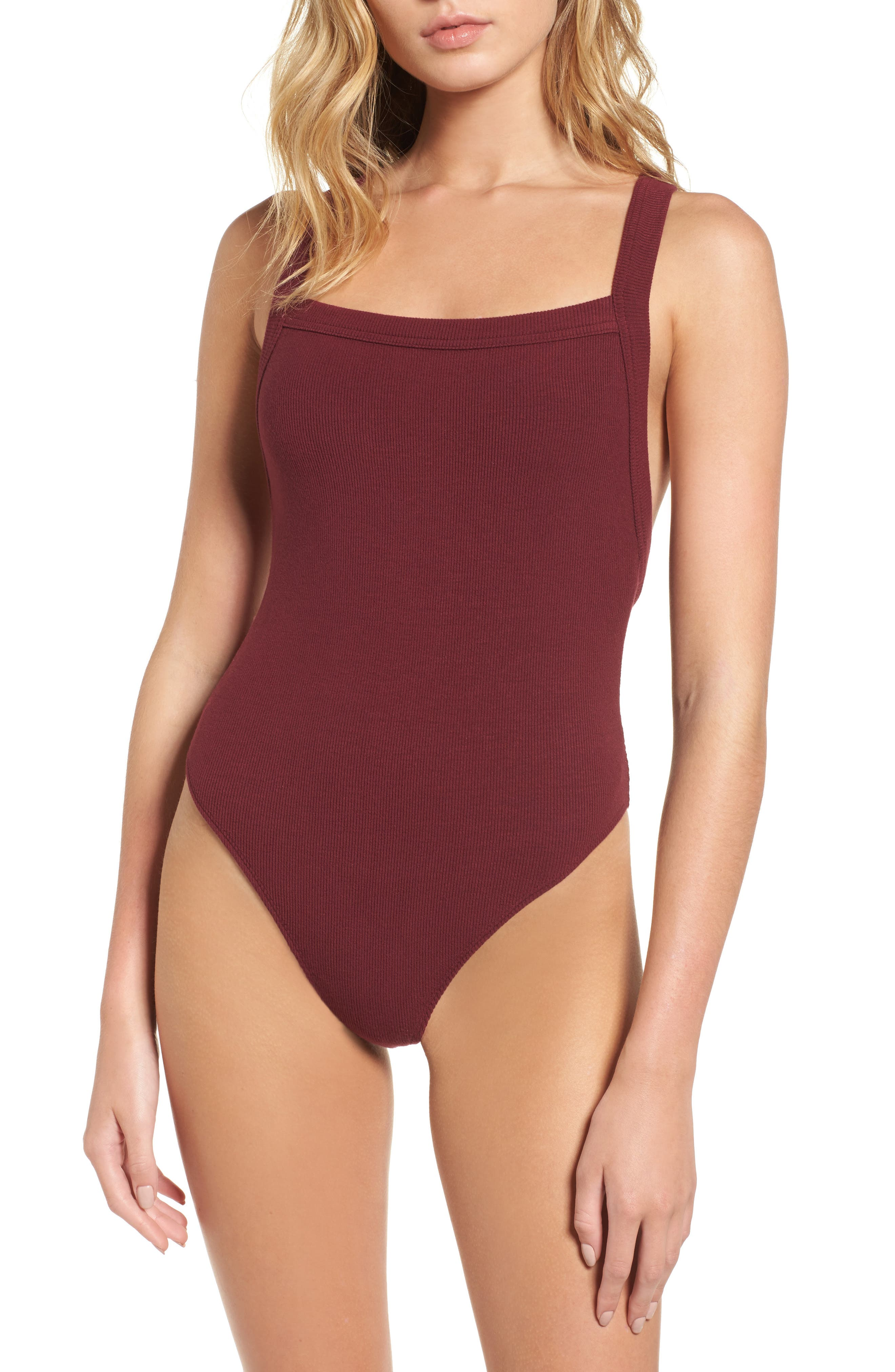 Thong Bodysuit,                             Alternate thumbnail 4, color,                             930